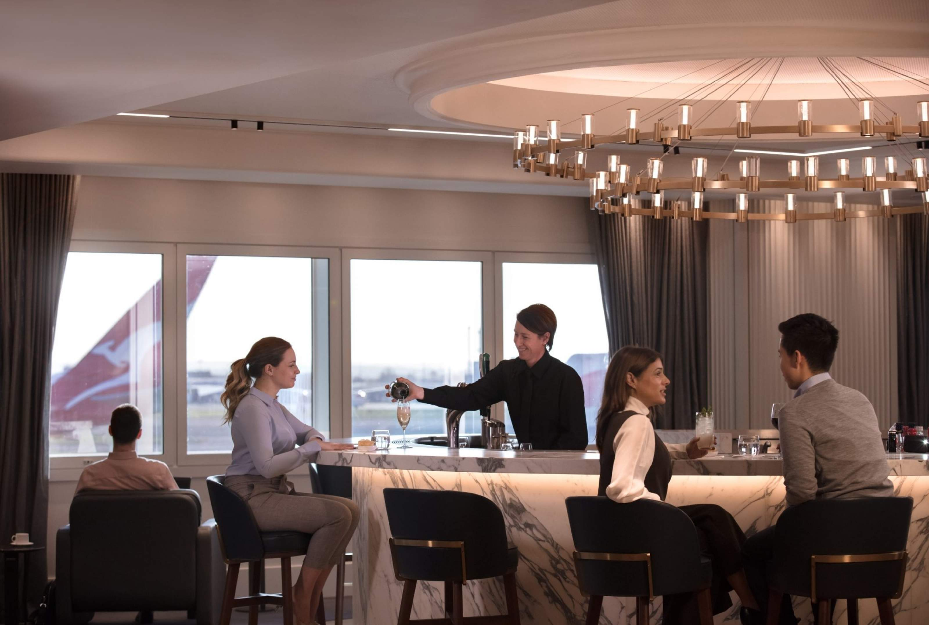 QF London Lounge (Qantas)
