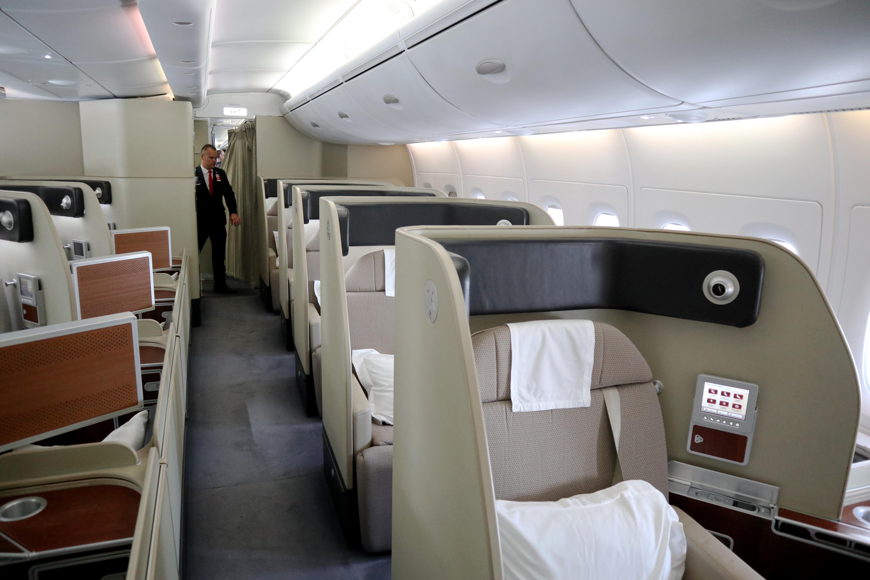 Qantas A380 Cabin A seats