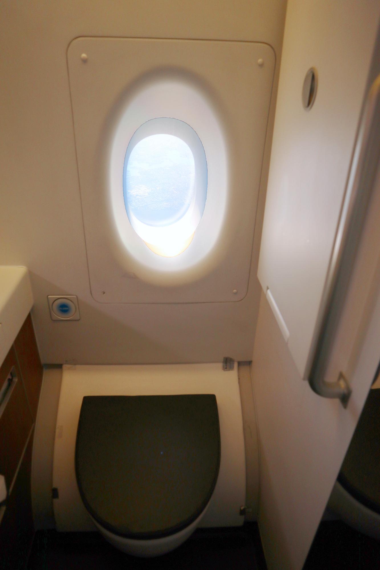 Qantas A380 First Class Toilet