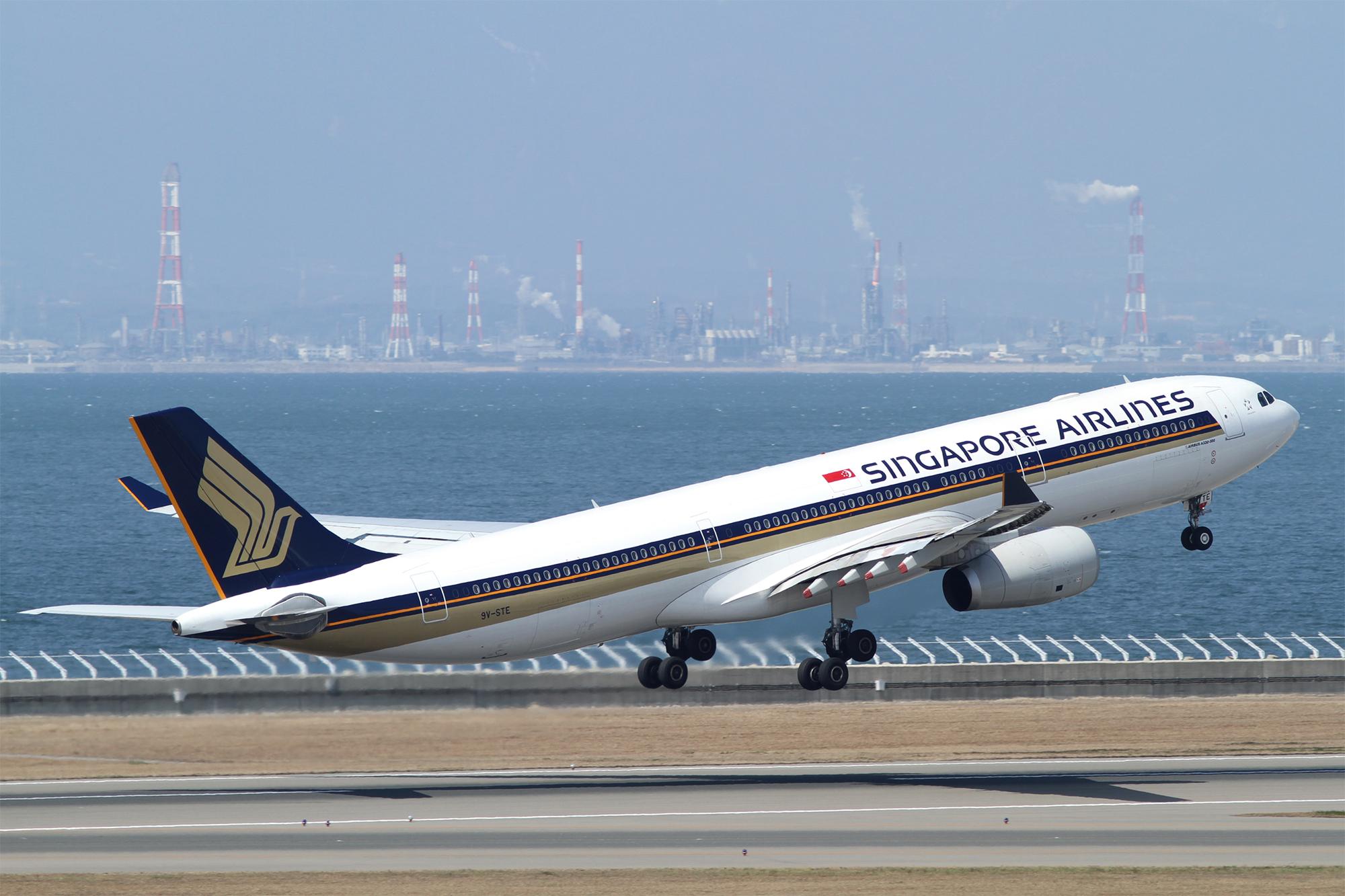 SQ A330 (Kentaro Iemoto)
