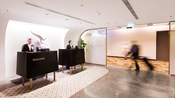 QF Singapore Lounge (Qantas)