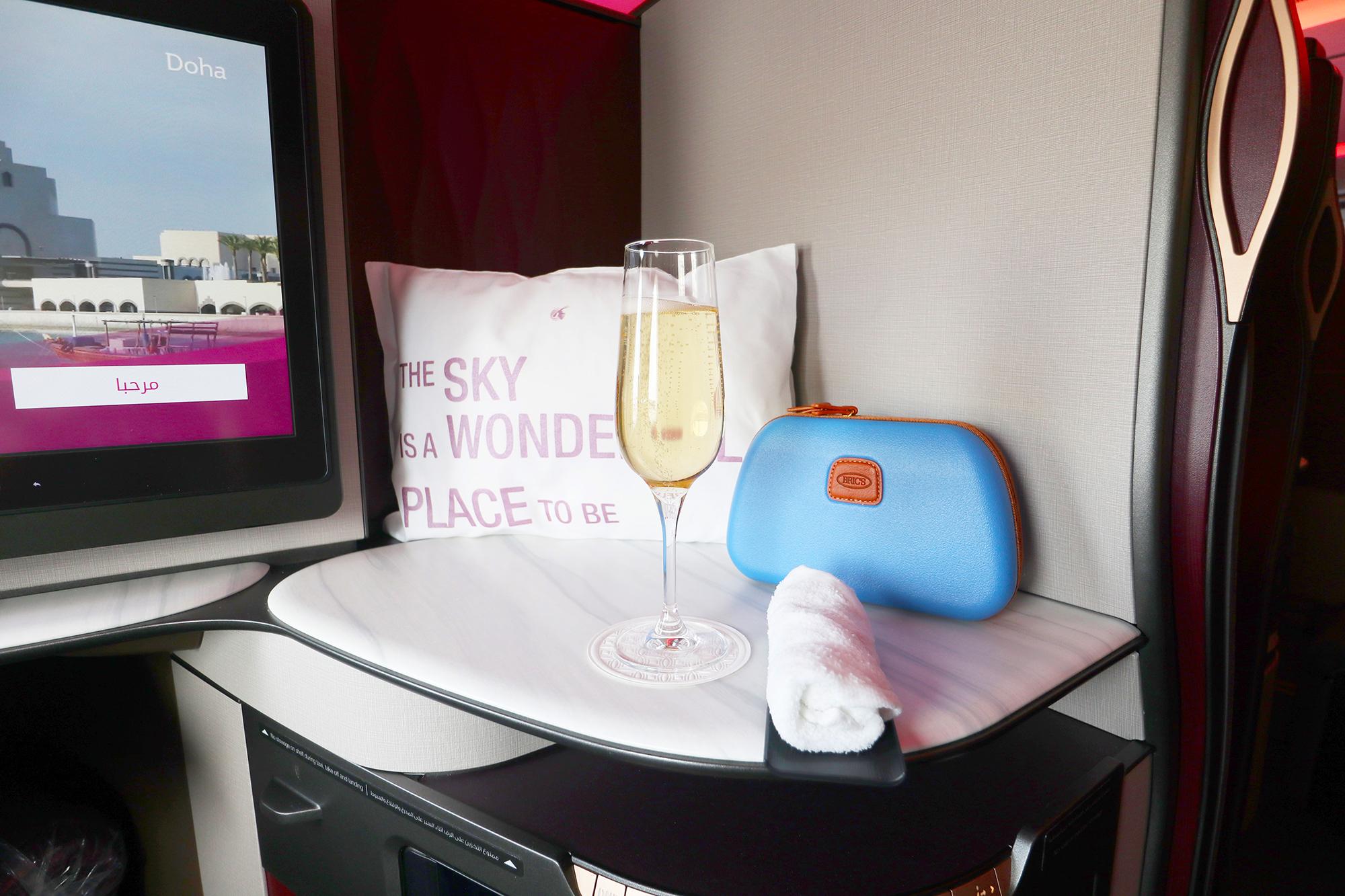 Boarding Champagne