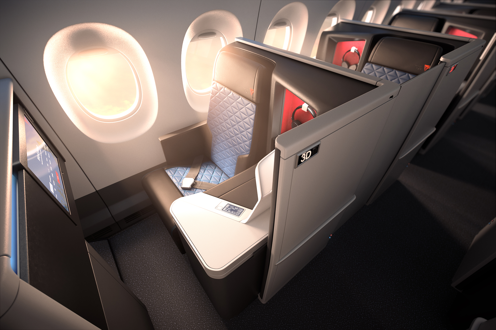 Delta One Suite A350 (Delta Air Lines)