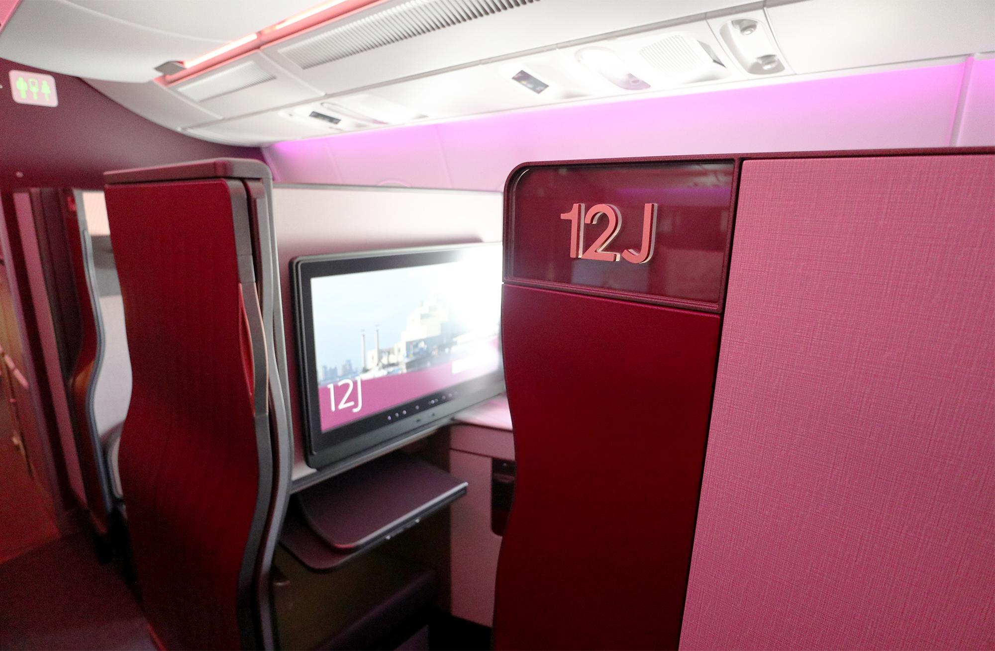 Seat 12J Entrance