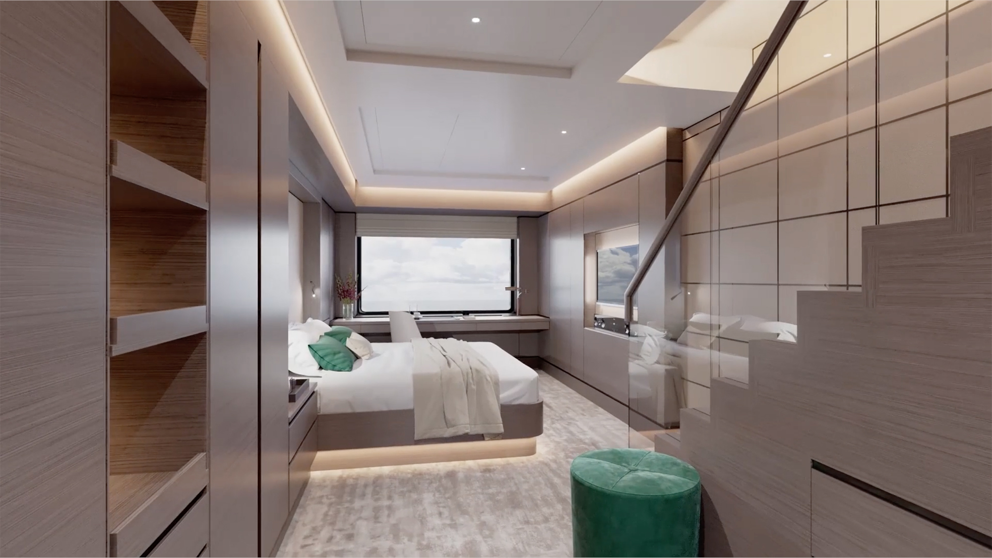 Loft Suite Bedroom (The Ritz-Carlton Yacht Collection).jpg