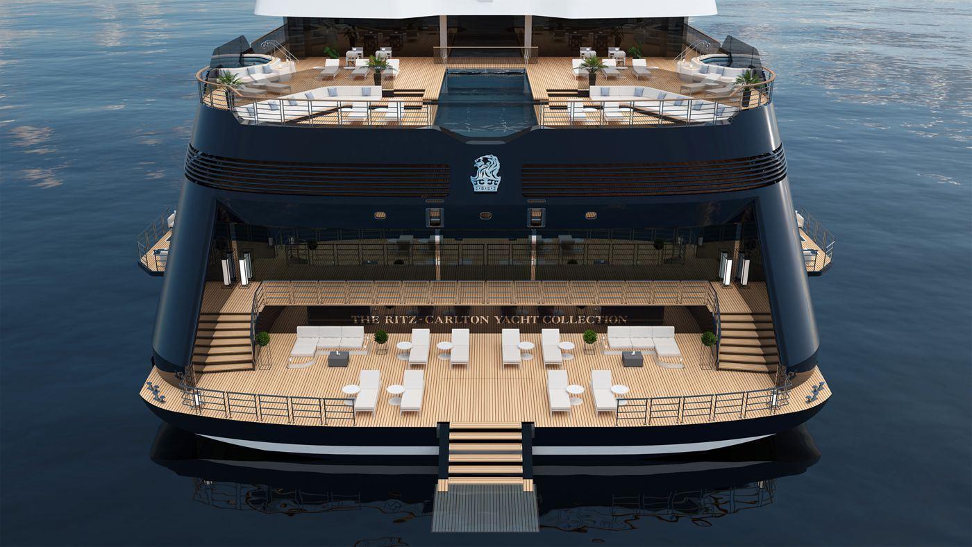 Yacht Rear (The Ritz-Carlton Yacht Collection)