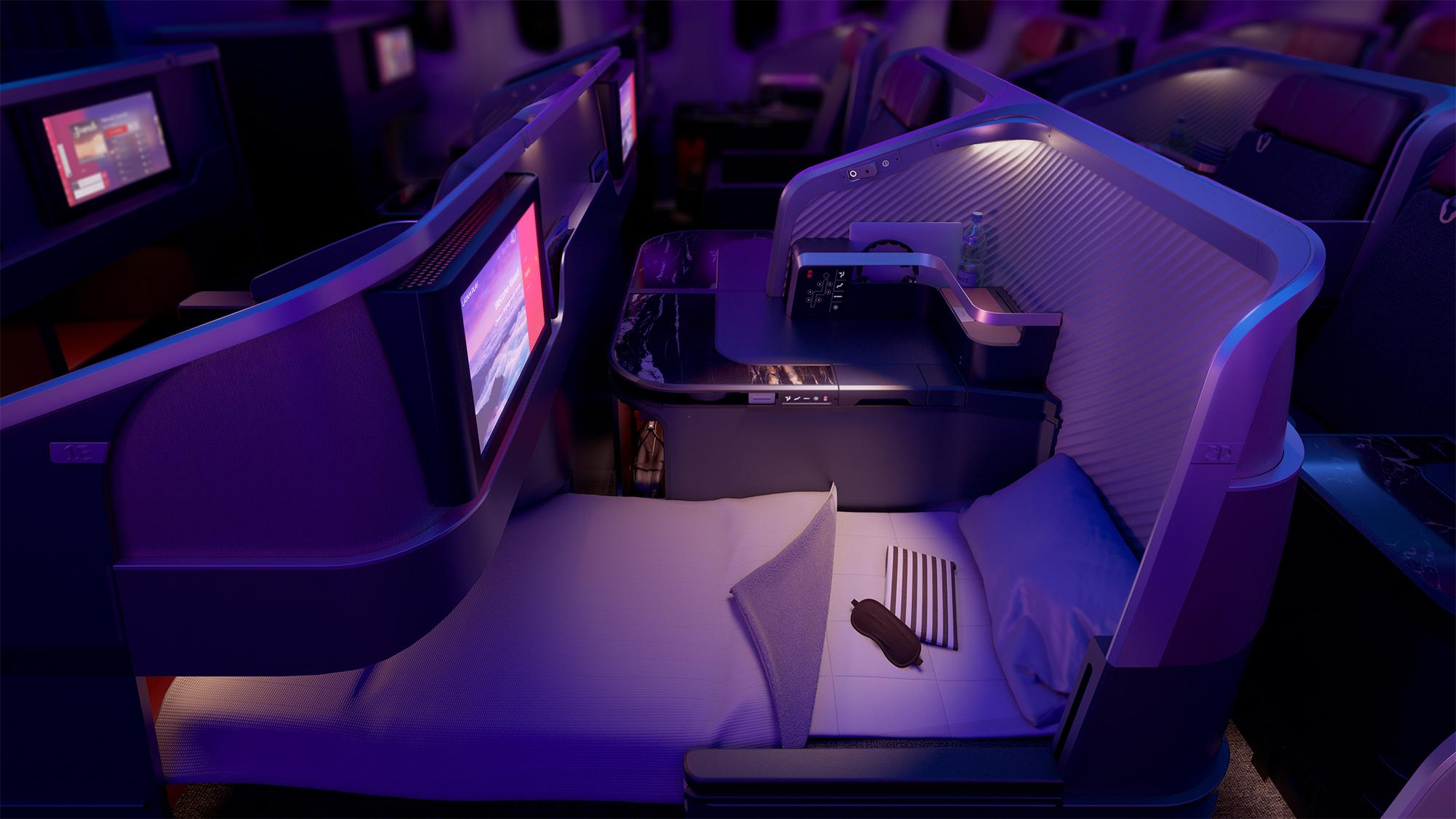 LA New J Bed Seat (PriestmanGoode)