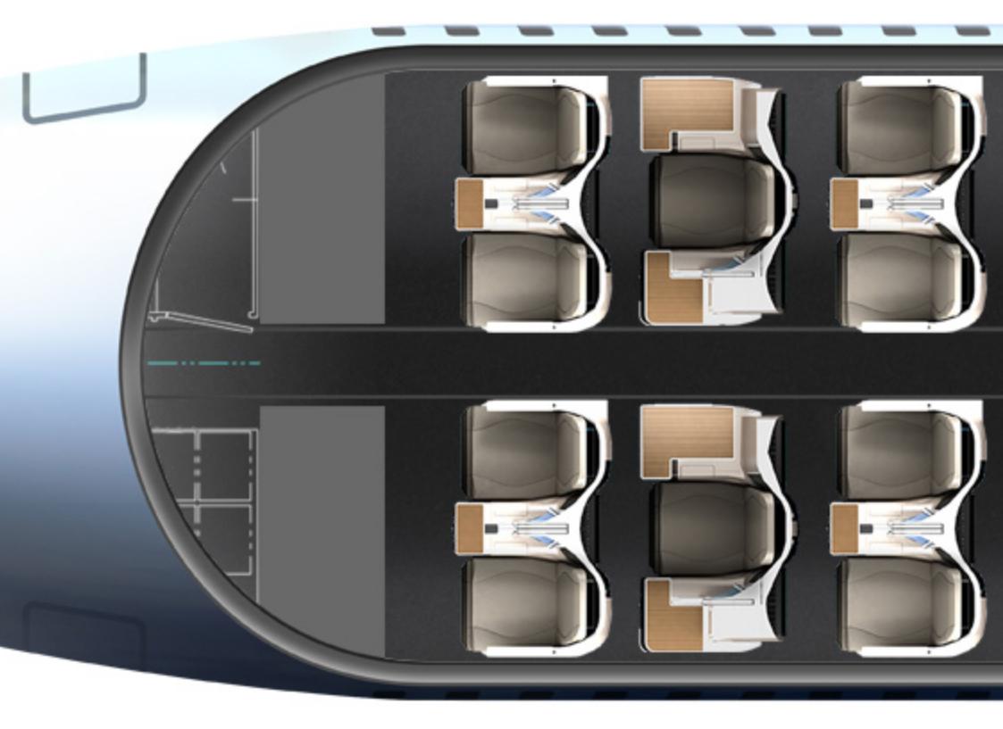 Thompson Vantage Single Aisle (Thompson Aero Seating Limited)