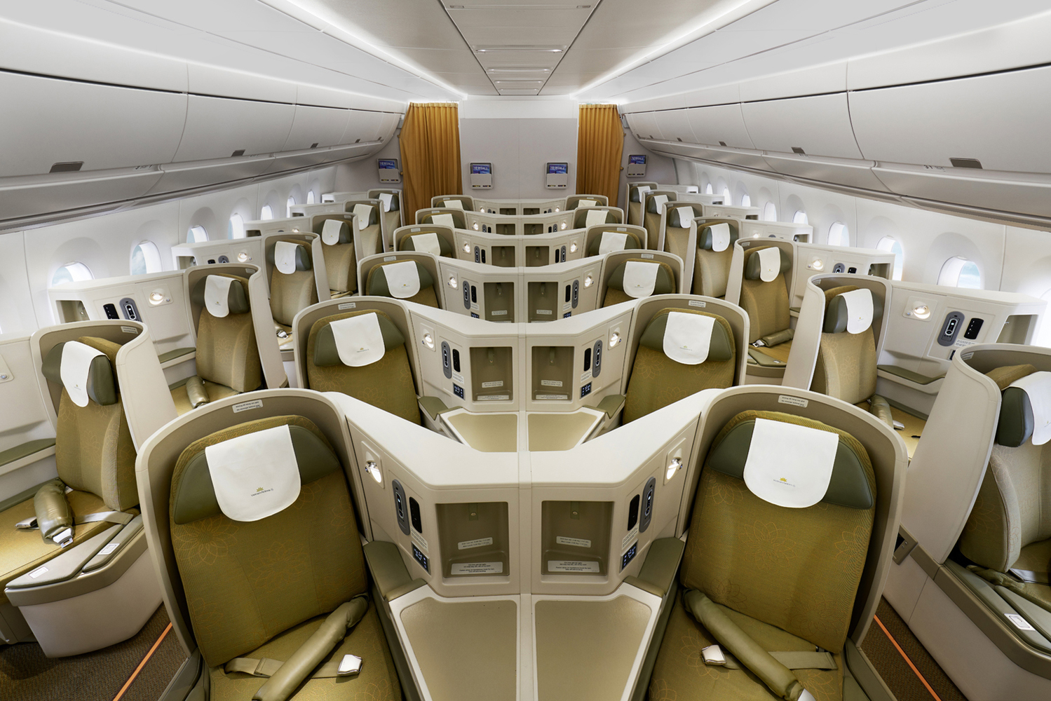 VN A350 Business Cirrus (Vietnam Airlines)