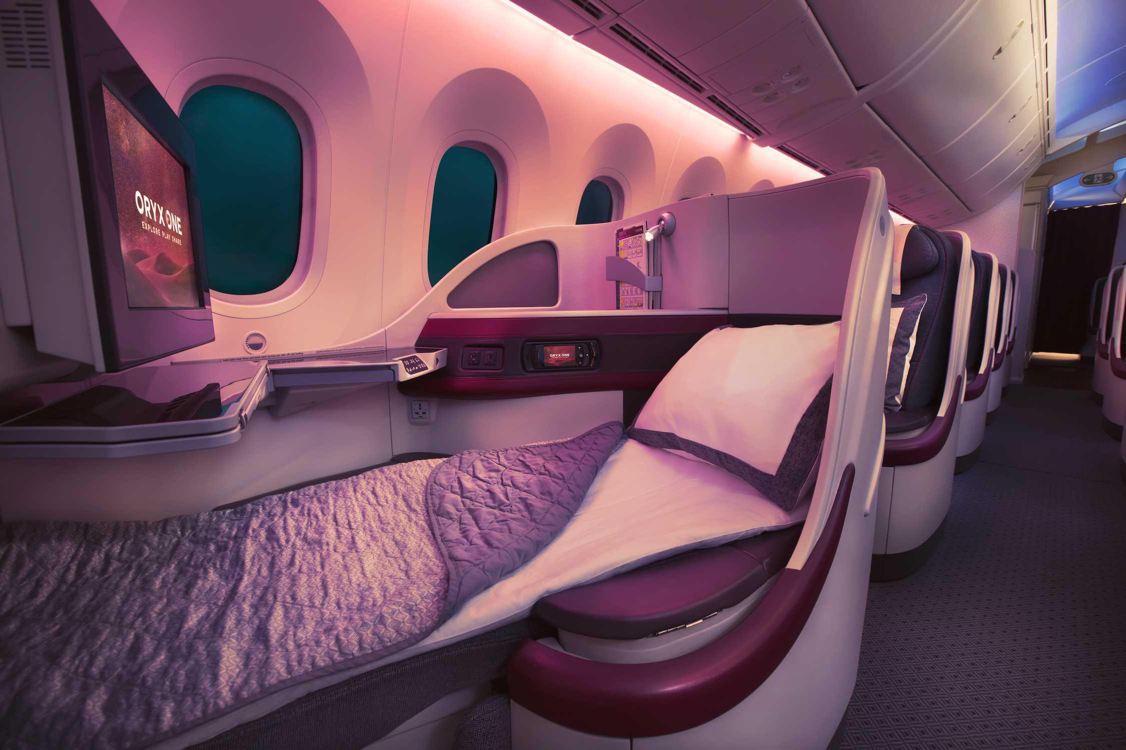 QR 787 J Bed (Qatar Airways)