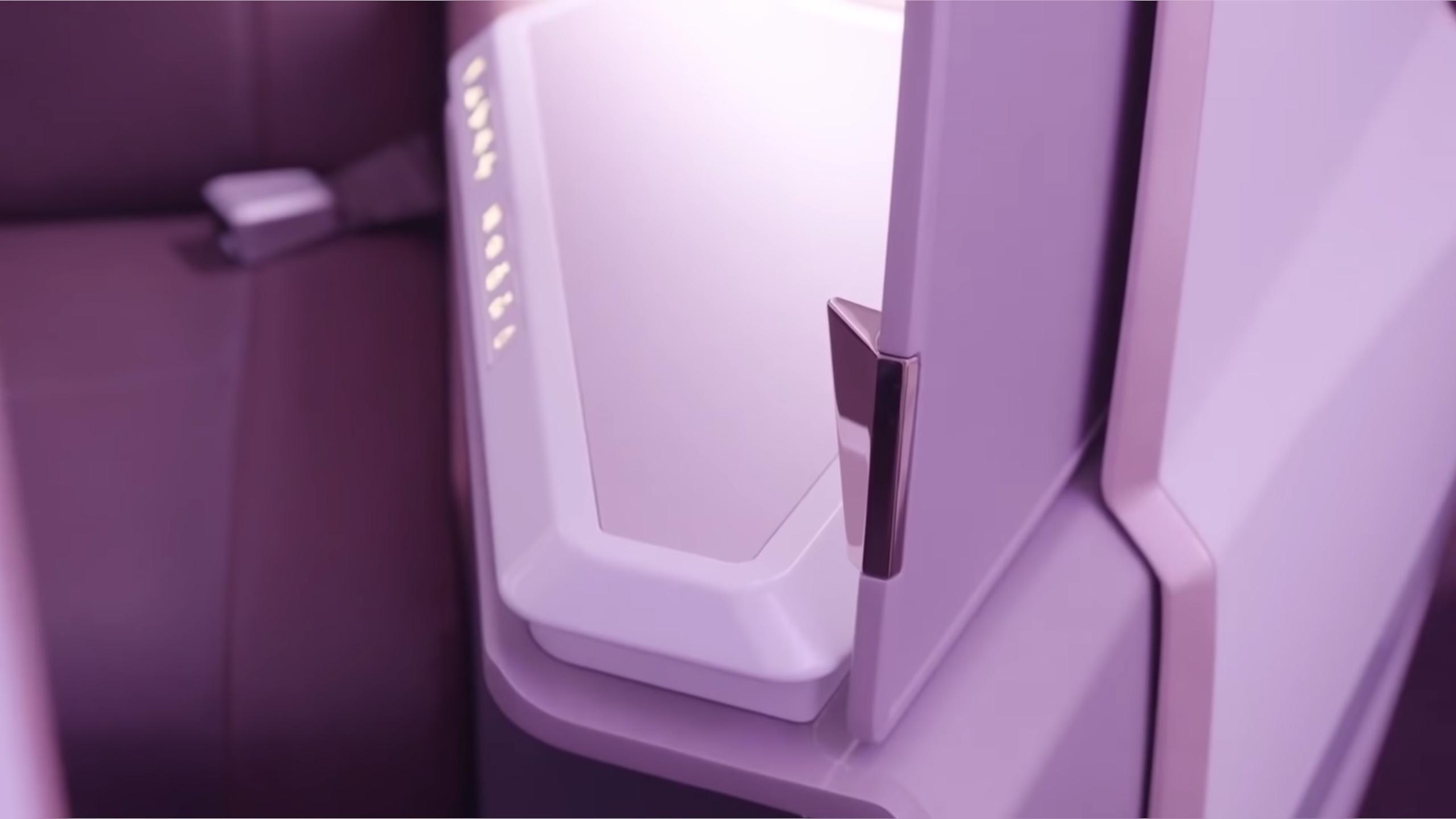 VS A35K Door (Virgin Atlantic)