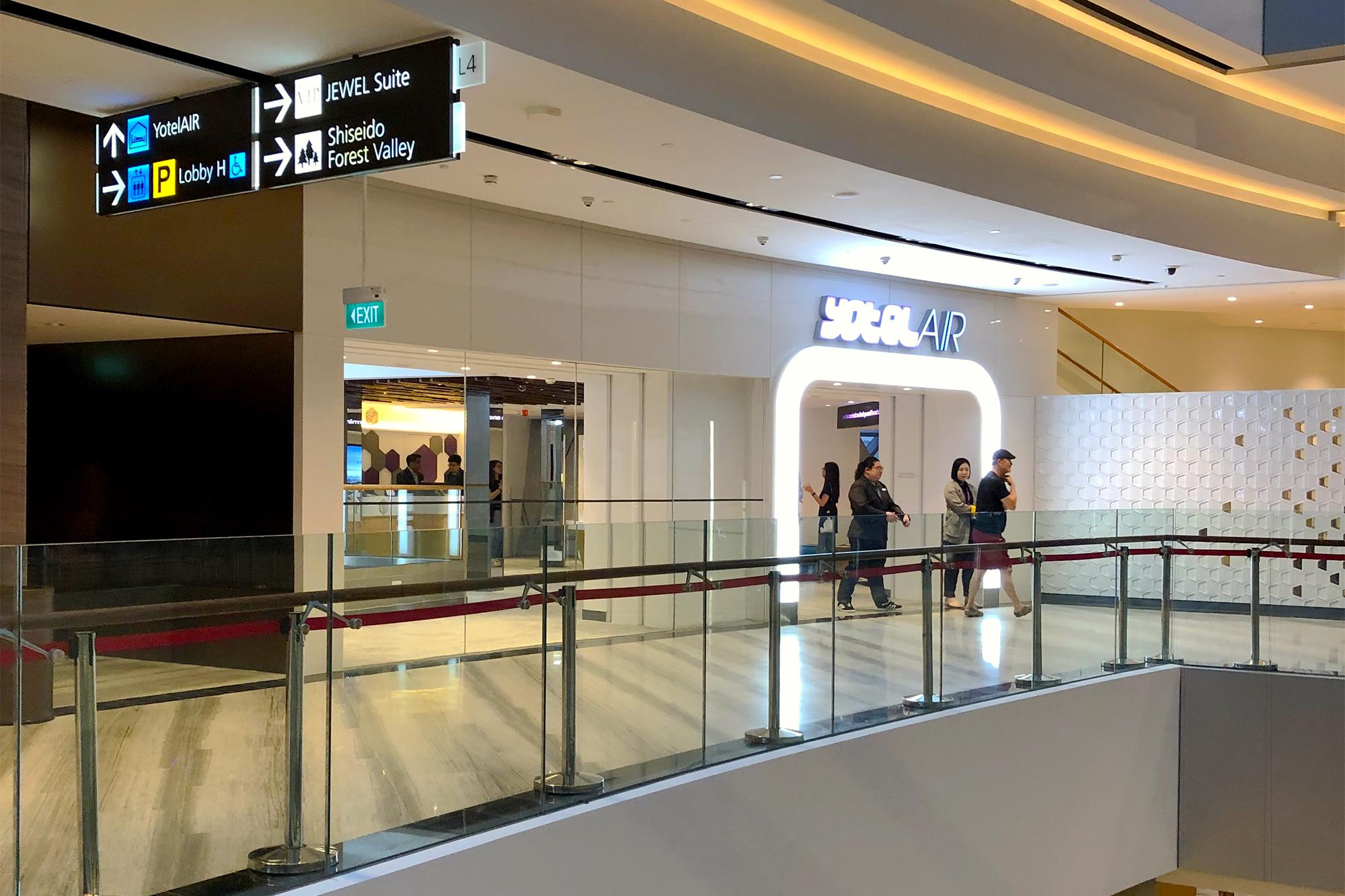 Yotel Entrance