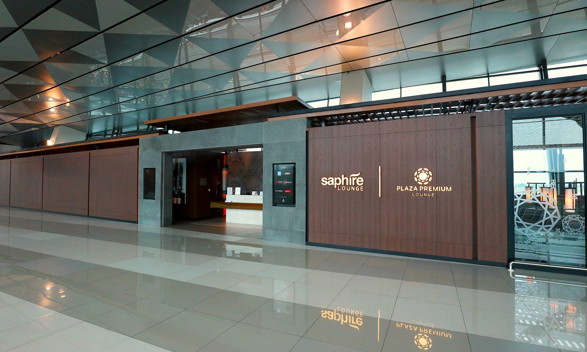 Review Saphire Plaza Premium Lounge Jakarta T3 Mainly Miles