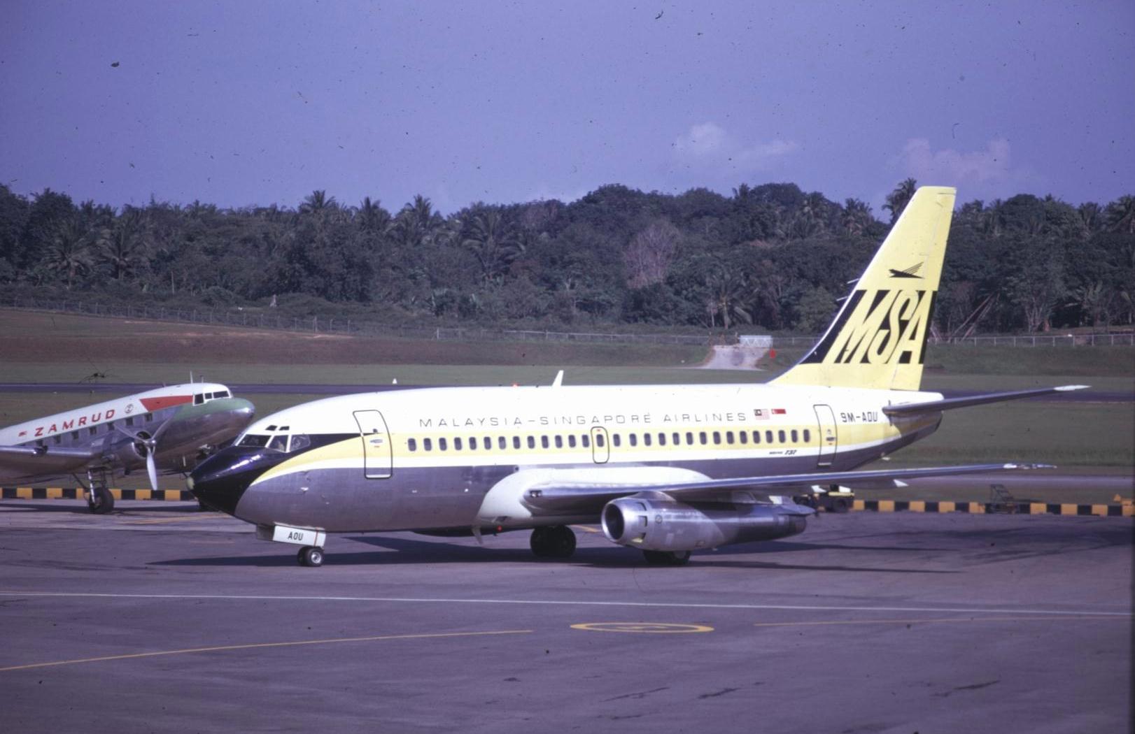 MHSQ History 737-200