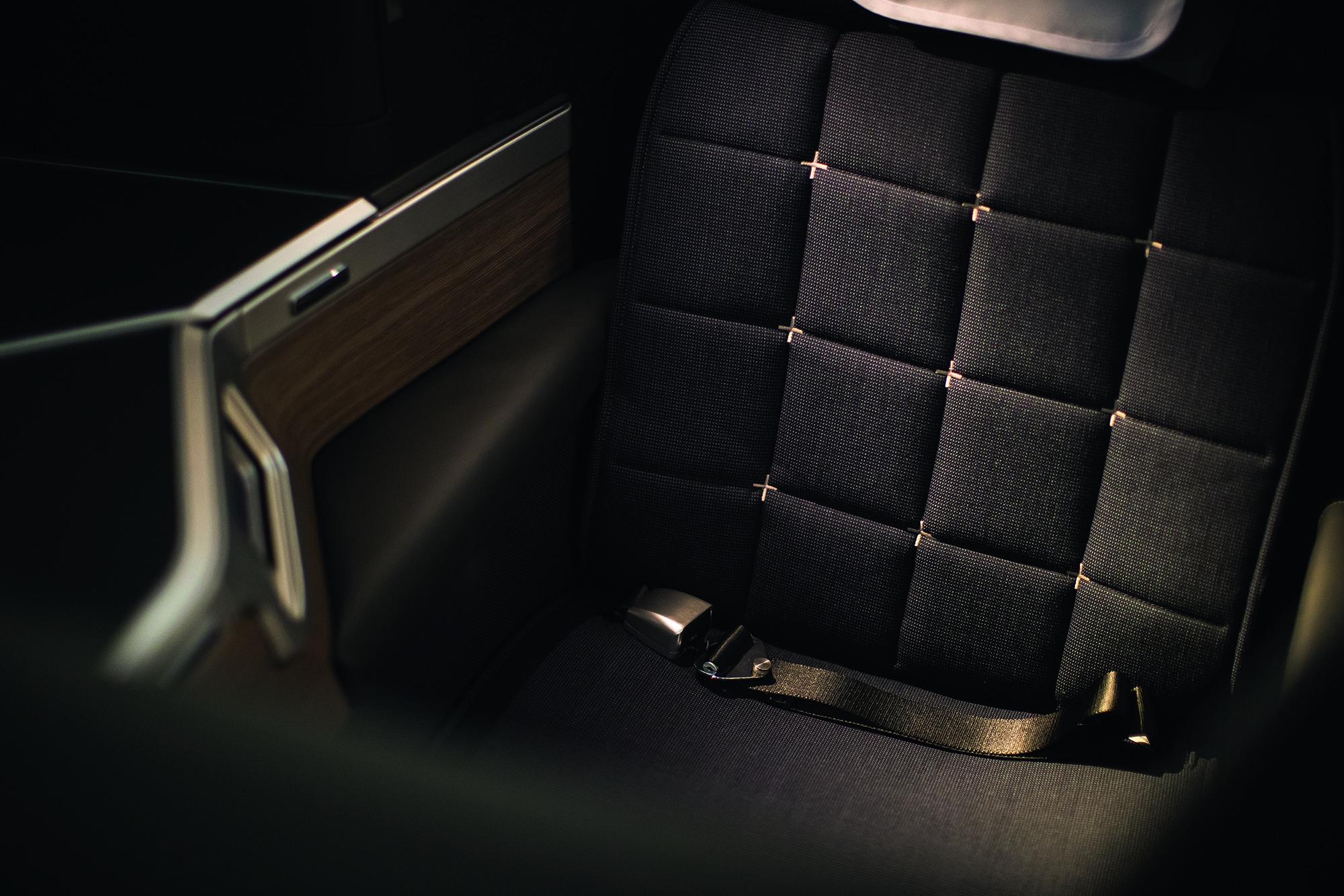 BA Club Suite Seat Belt (British Airways)