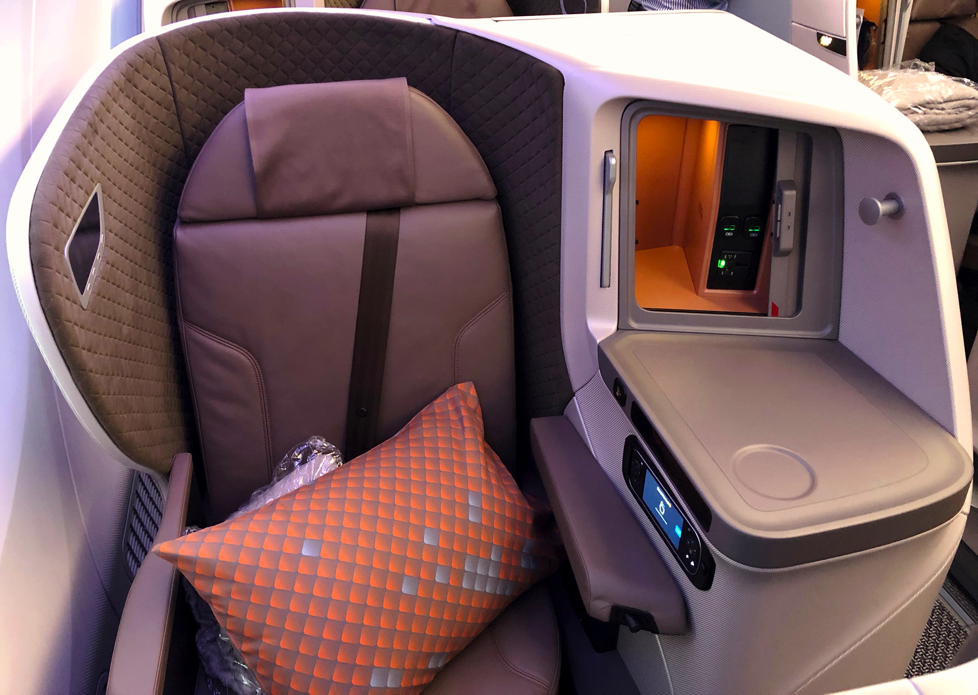 Seat 18