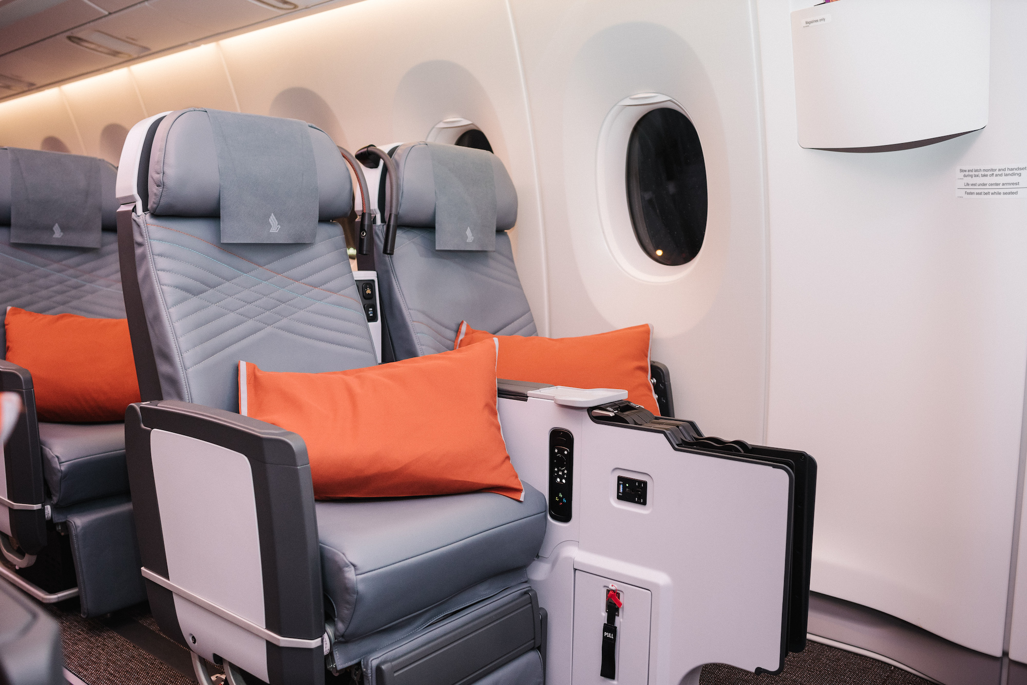 2018 W A350ULR Seats 31AC