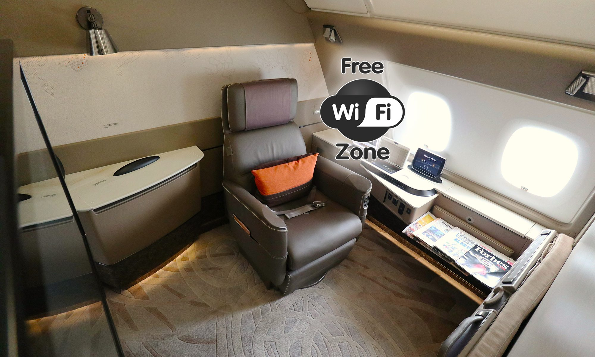 Singapore Airlines Now Offers Free Wi Fi In First Class 100mb In Business Mainly Miles