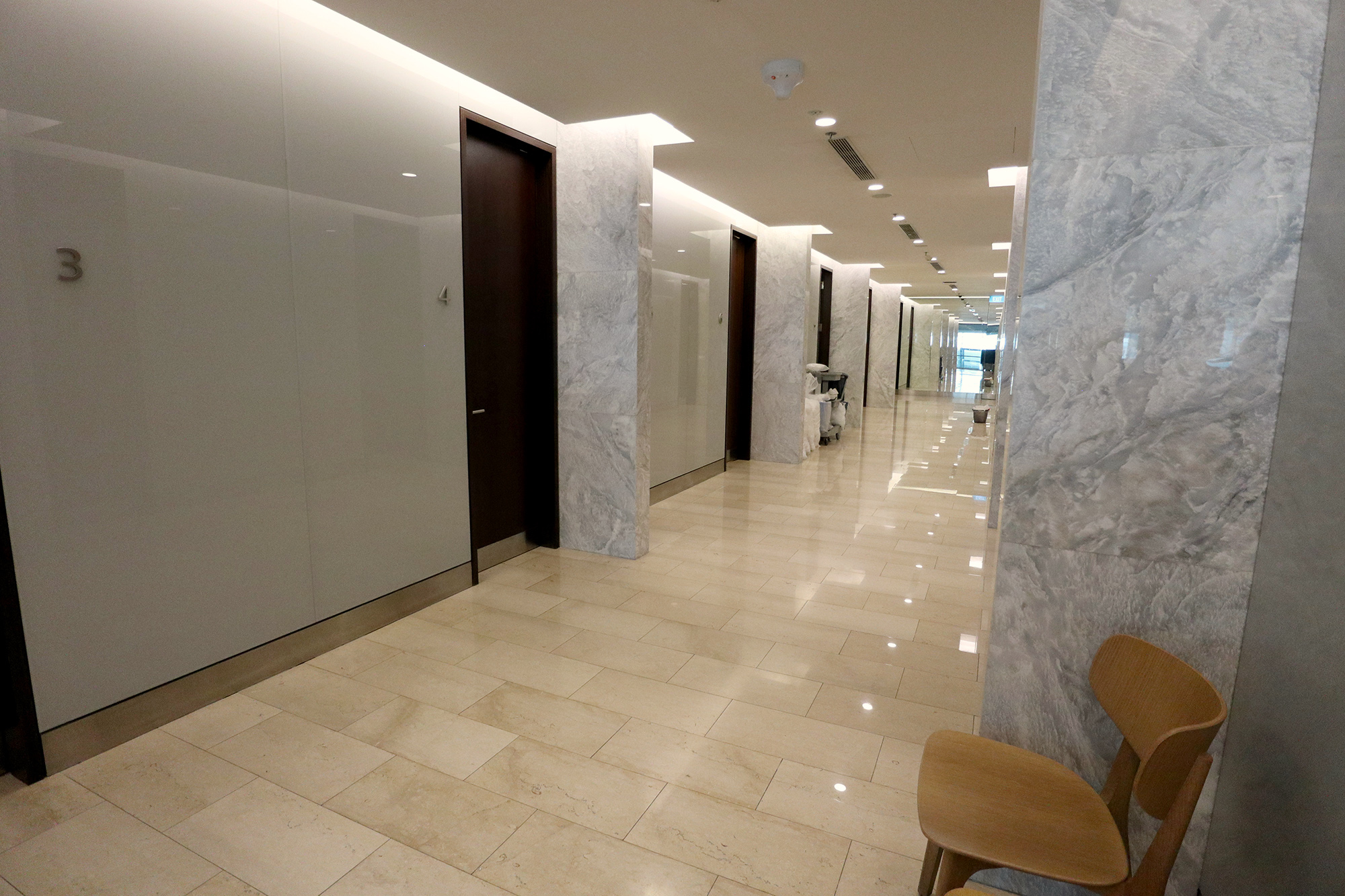 Showers Corridor