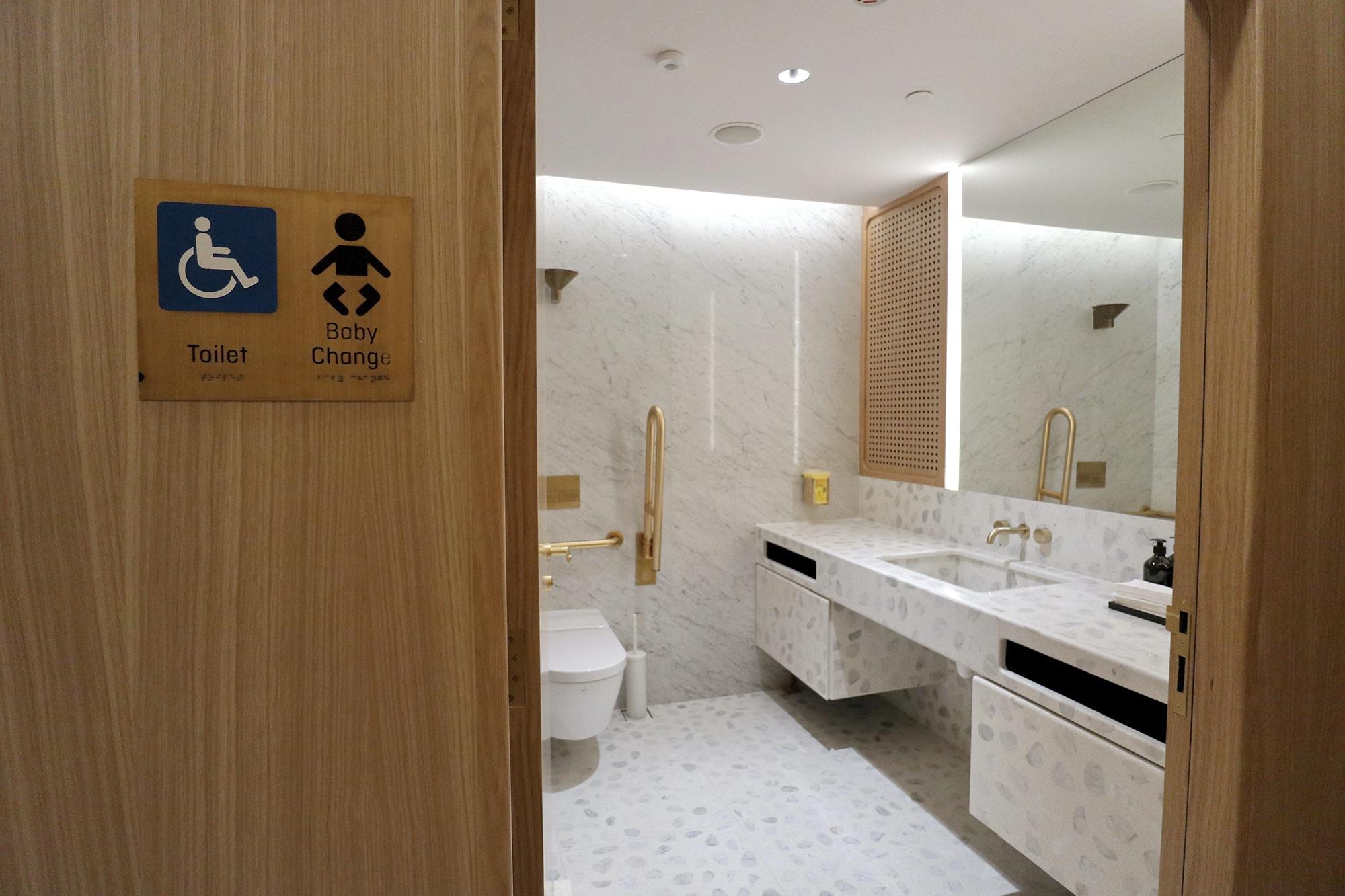 Toilet Baby Change