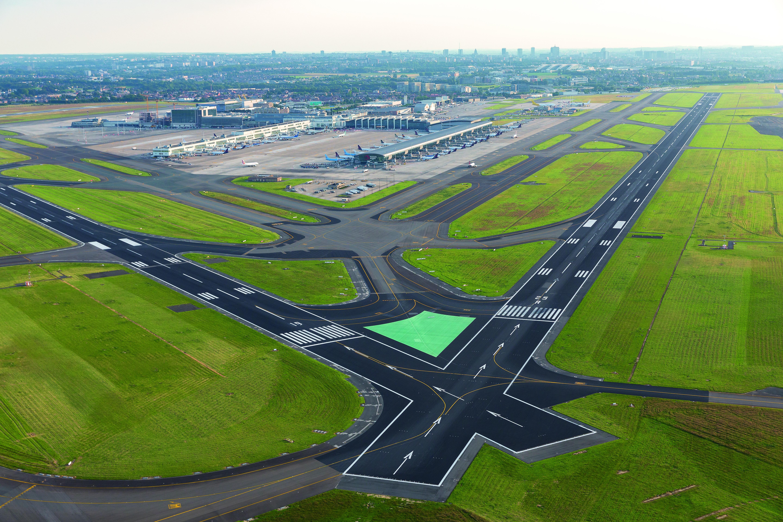 Brussels Runway View