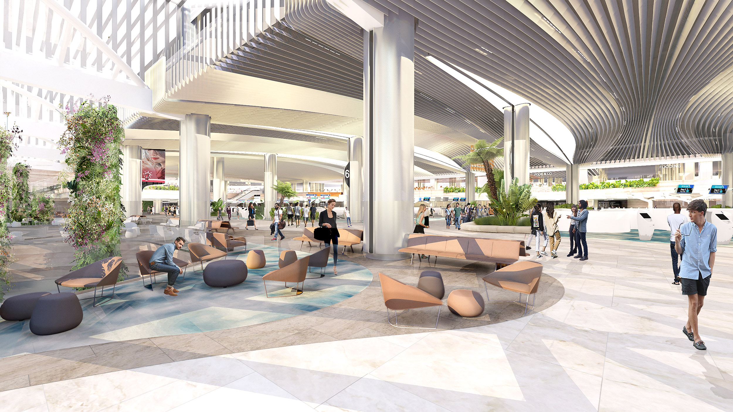 1 Departure Hall - A Refreshed Gateway to Terminal 2 (CAG)