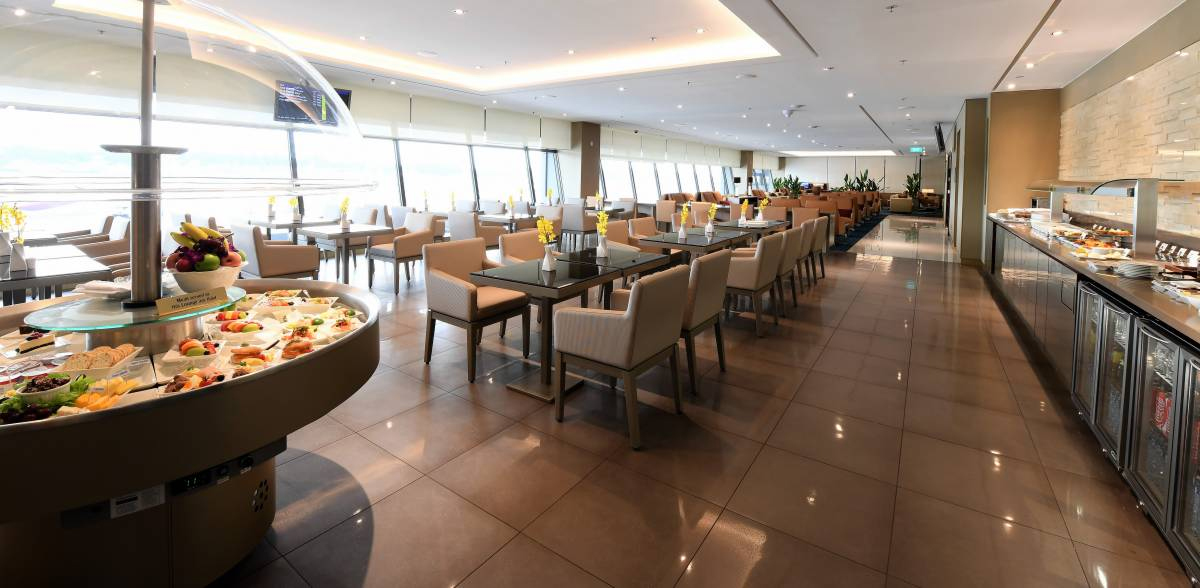 EK Lounge Singapore Dining (Emirates)