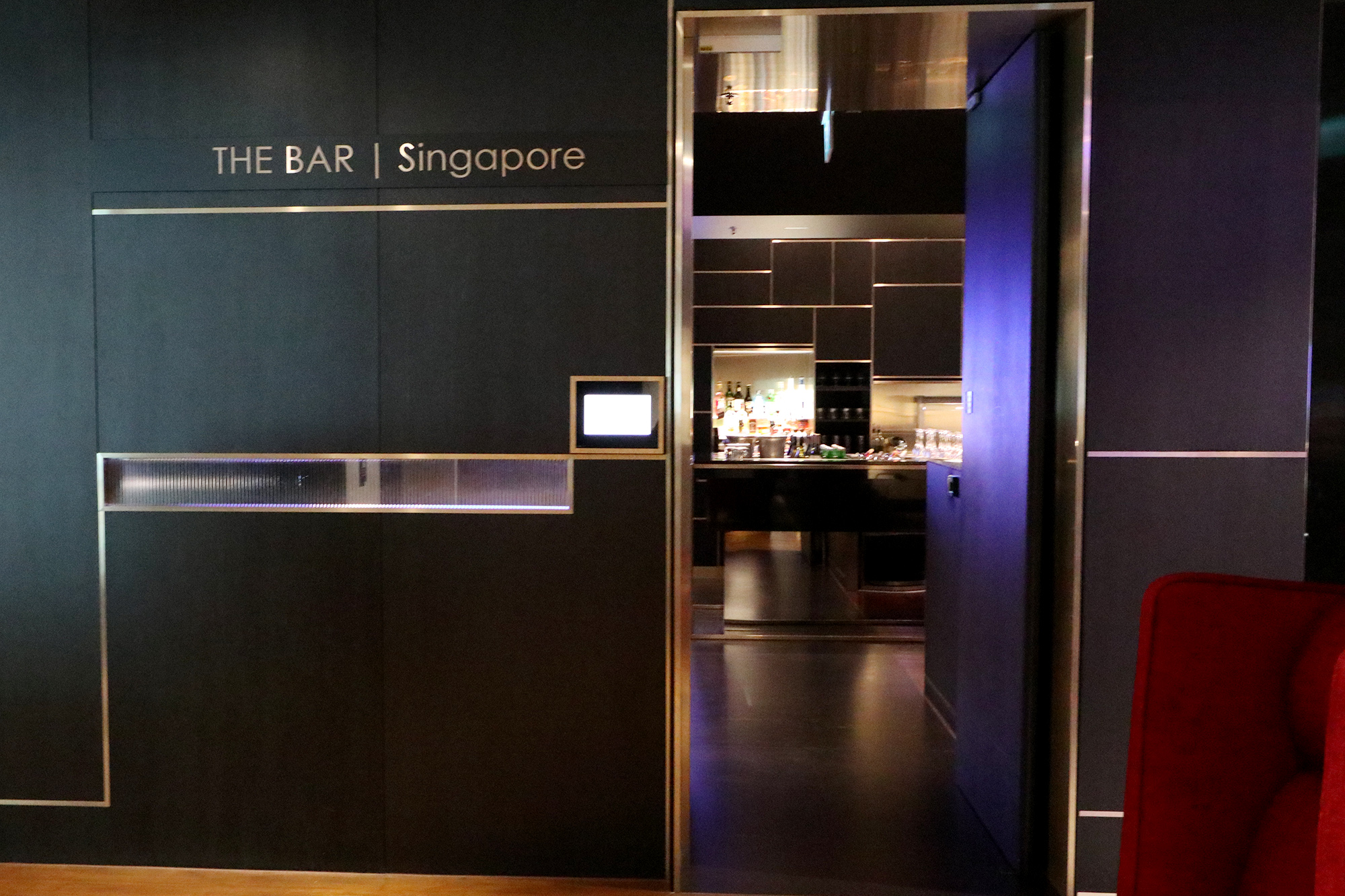 The Bar Entrance