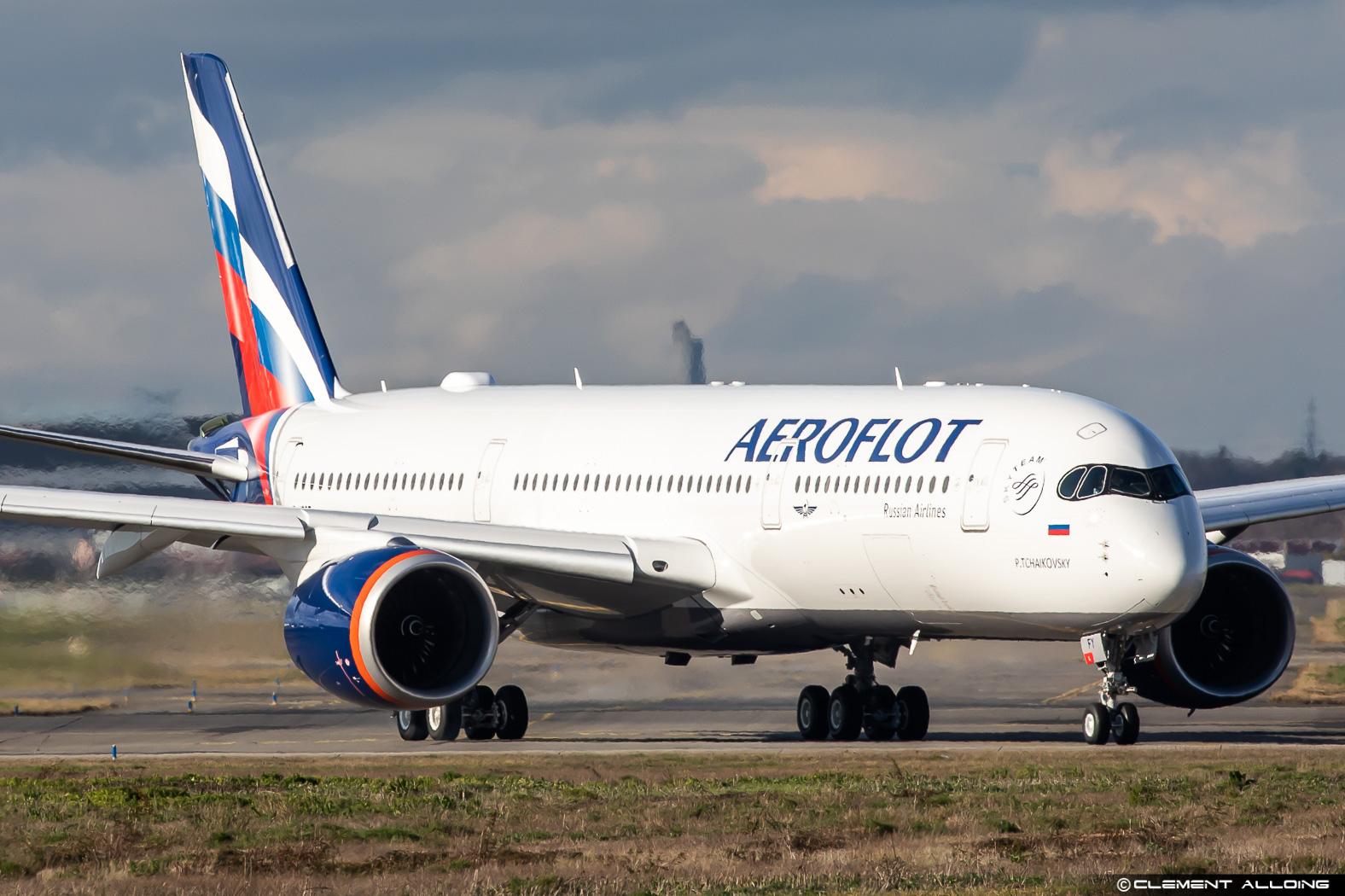 Aeroflot A350 (Clement Alloing)