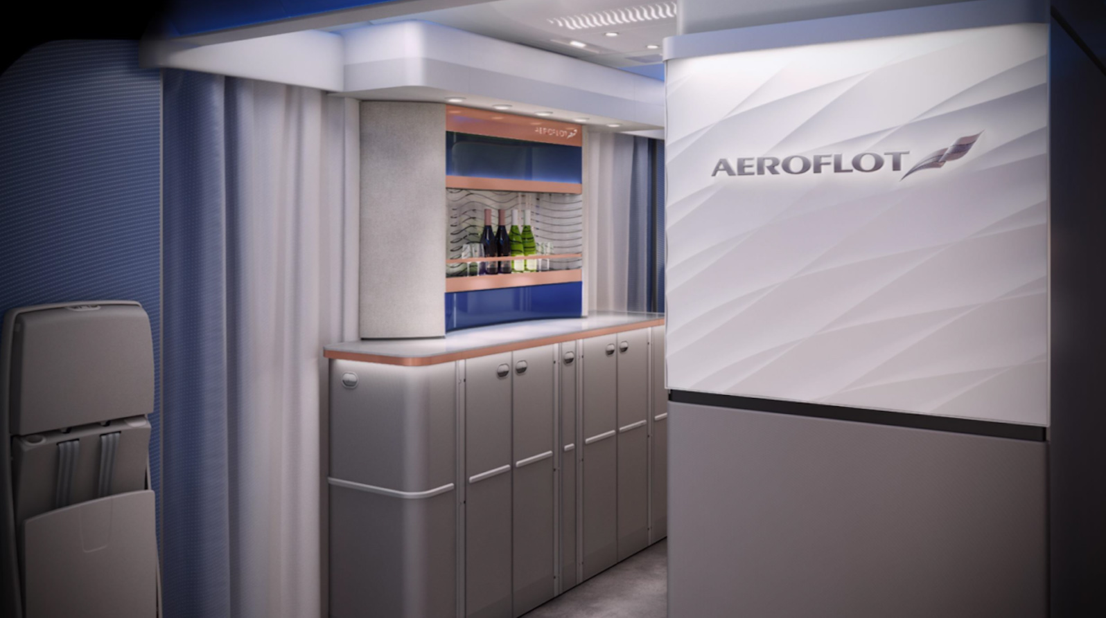 Aeroflot A350 New J Bar 2