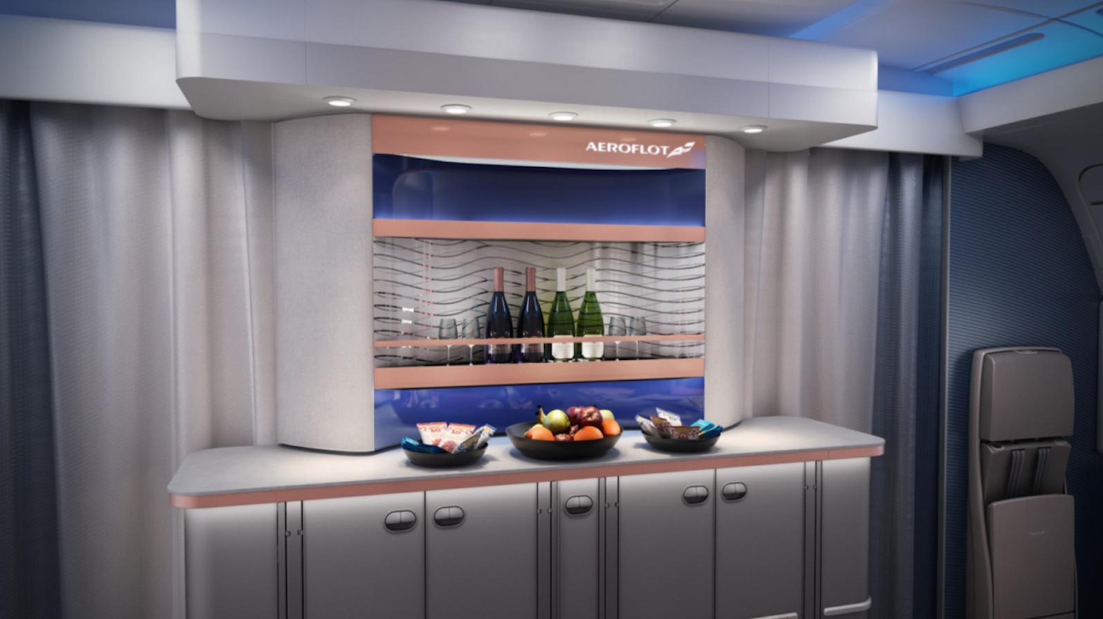 Aeroflot A350 New J Bar