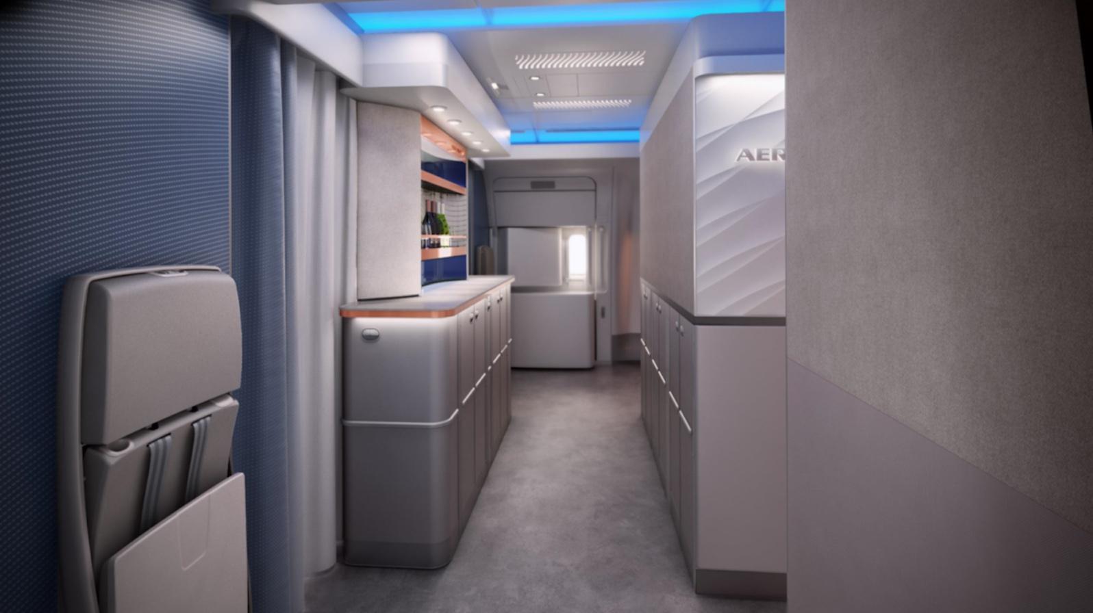Aeroflot A350 New J Entrance