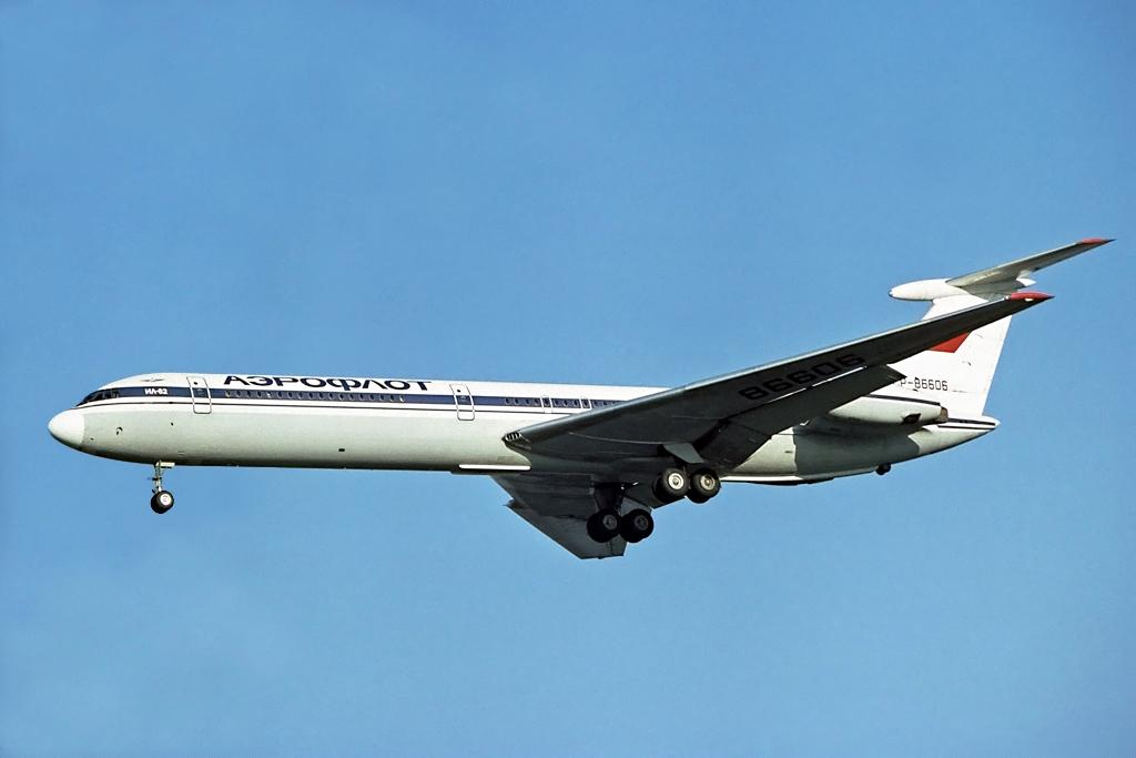Aeroflot IL62 (Steve Fitzgerald)