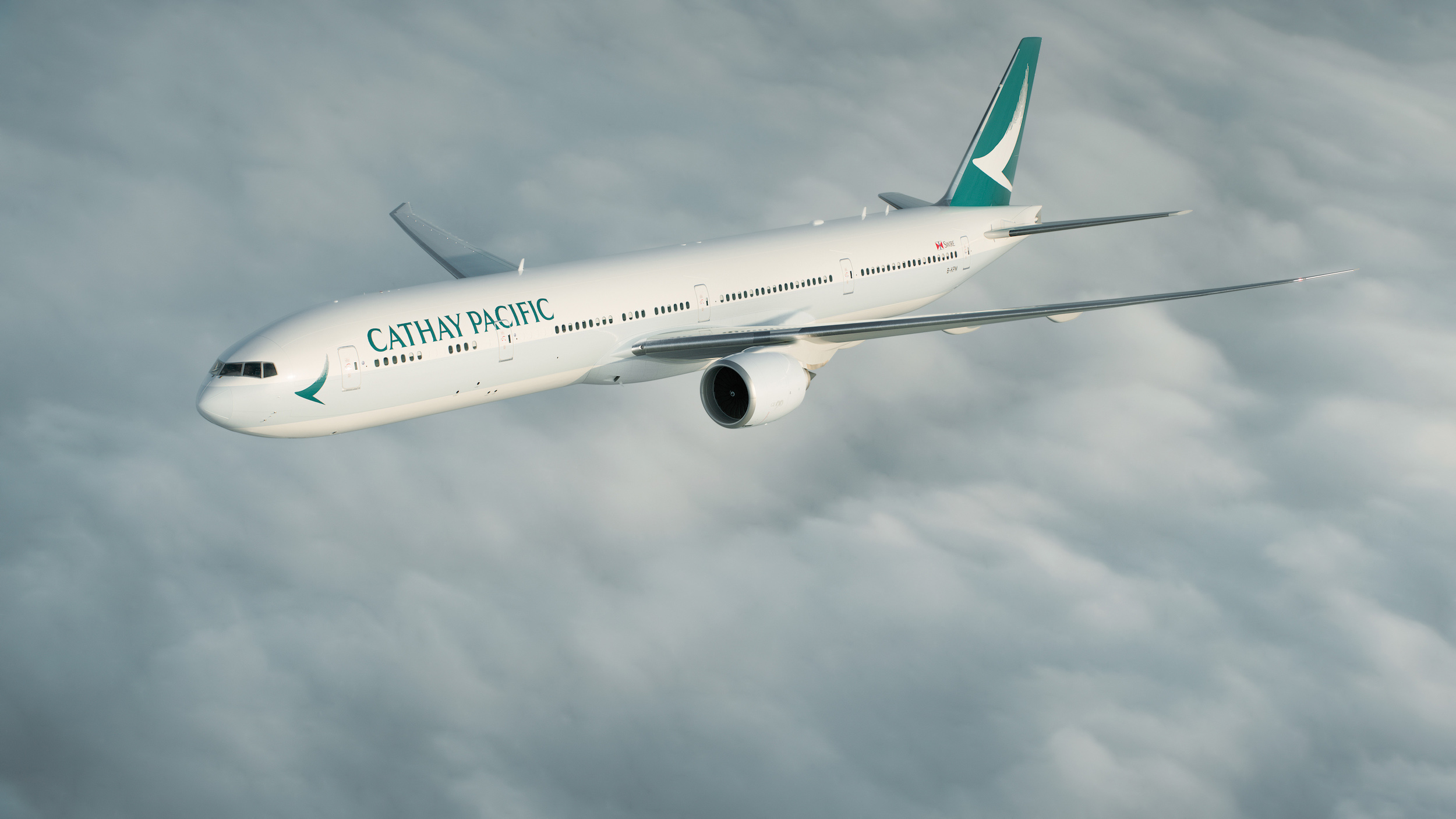 CX B77W 2 (Cathay Pacific)