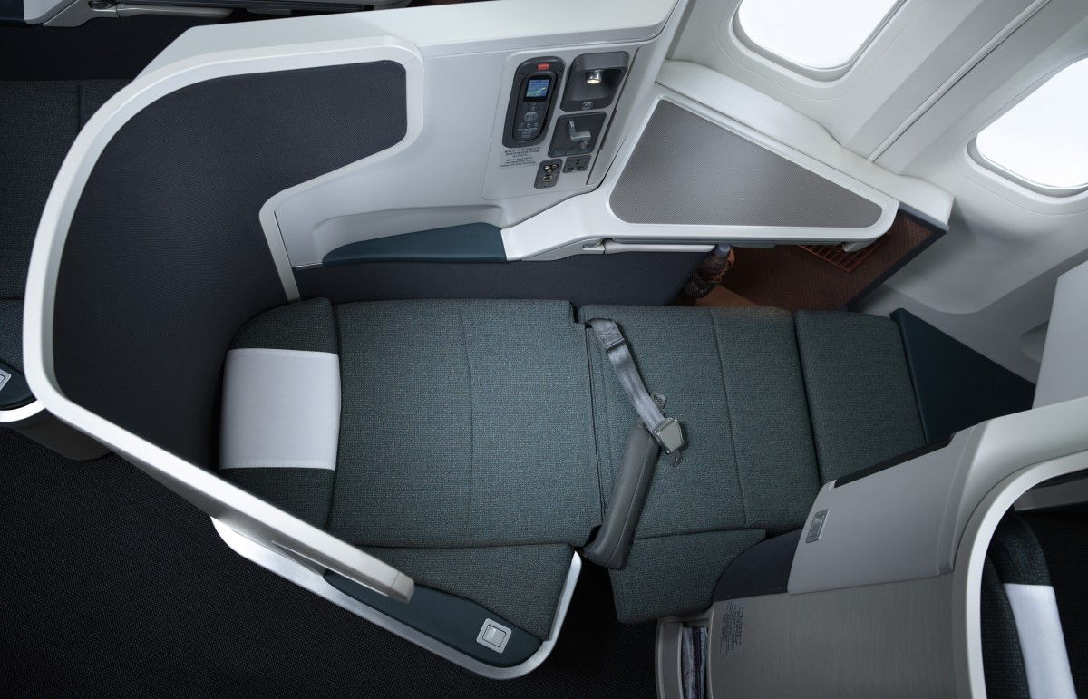 CX J Seat Overhead (Cathay Pacific)