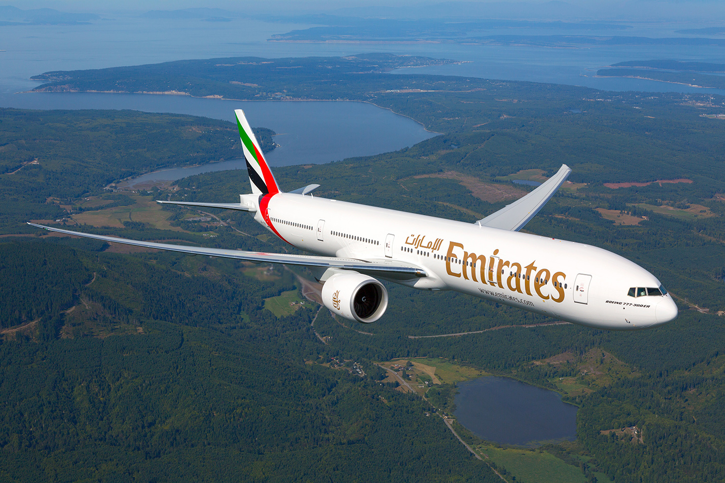 EK 77W In Flight (Emirates)