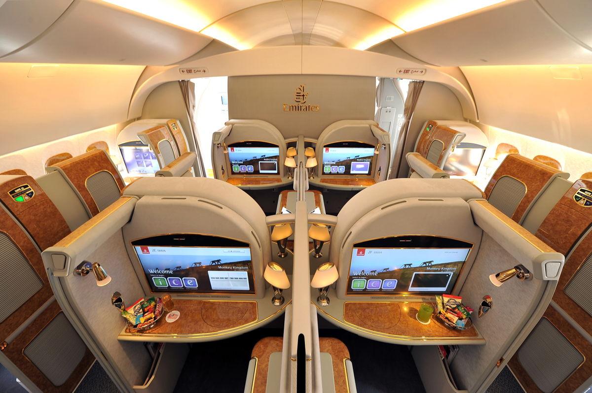 EK A380 First (Emirates)