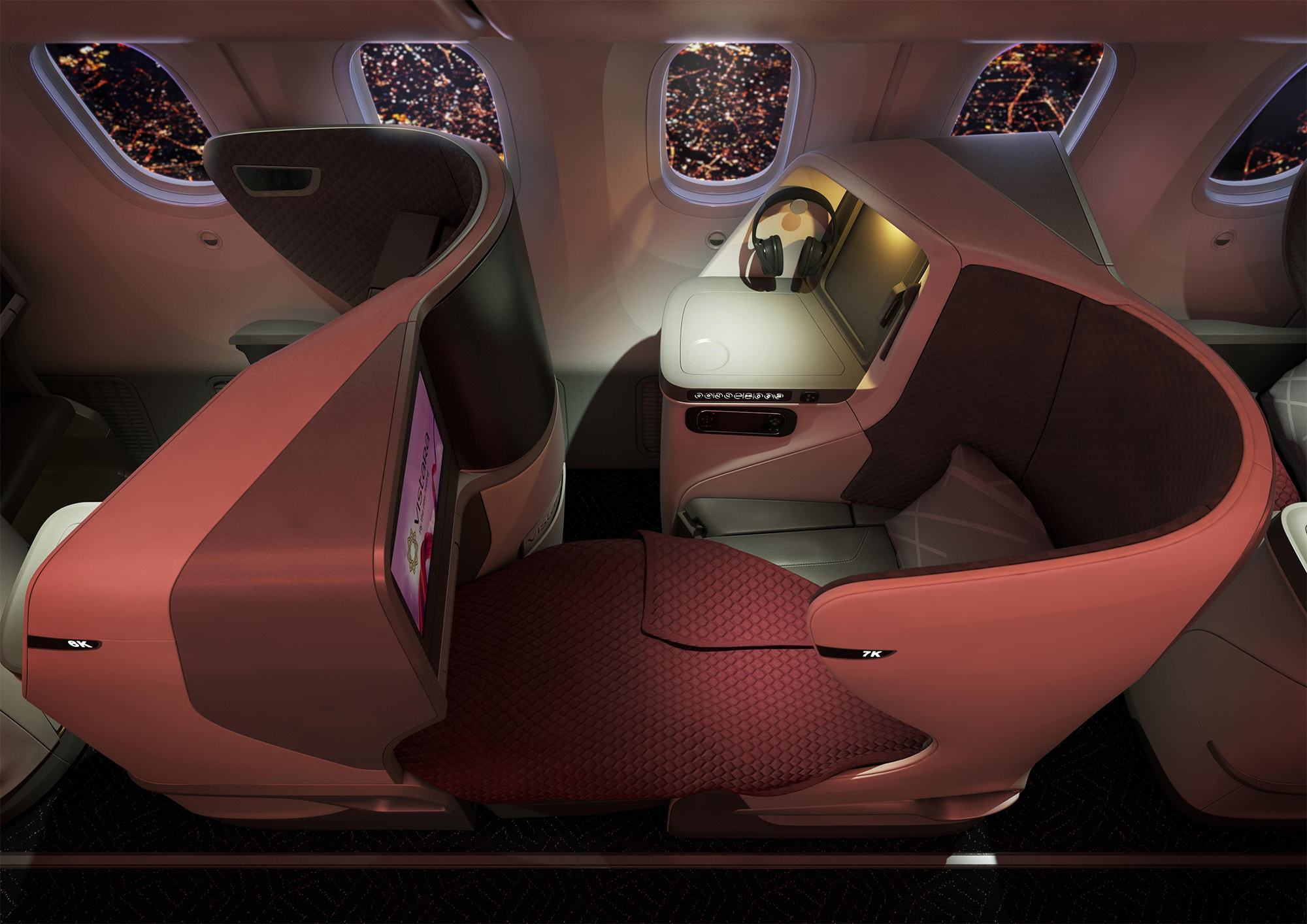 Business Window Seat (Vistara)