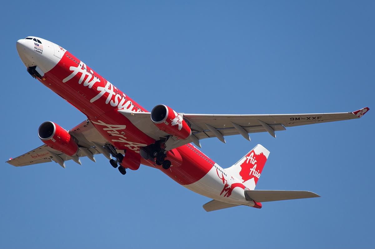 Air Asia X A330 (Mehdi Nazarinia)