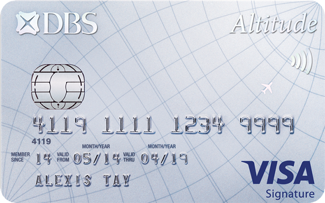 Altitude Card Visa
