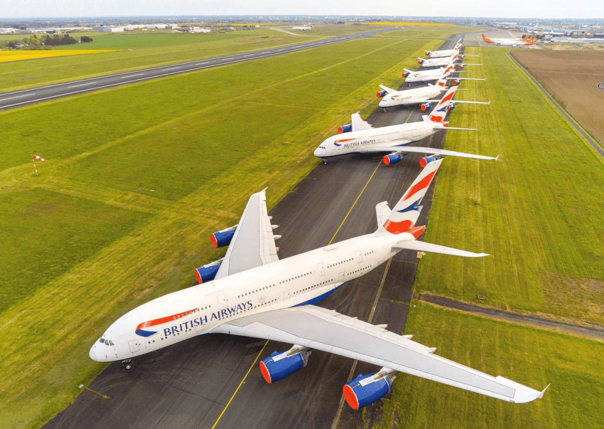 BA A380s Chateuroux