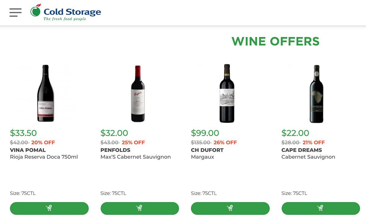 Cold Storage Website