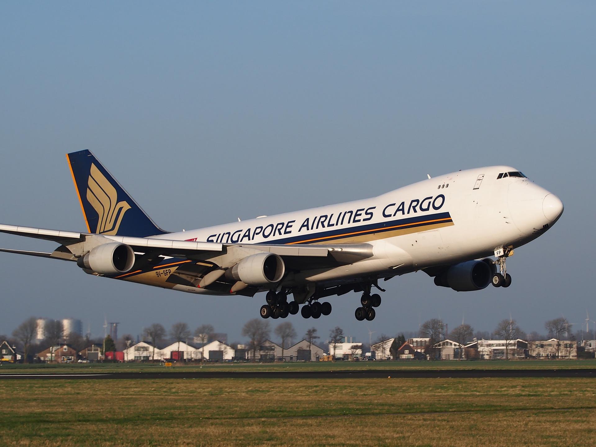 SQ 747 Cargo