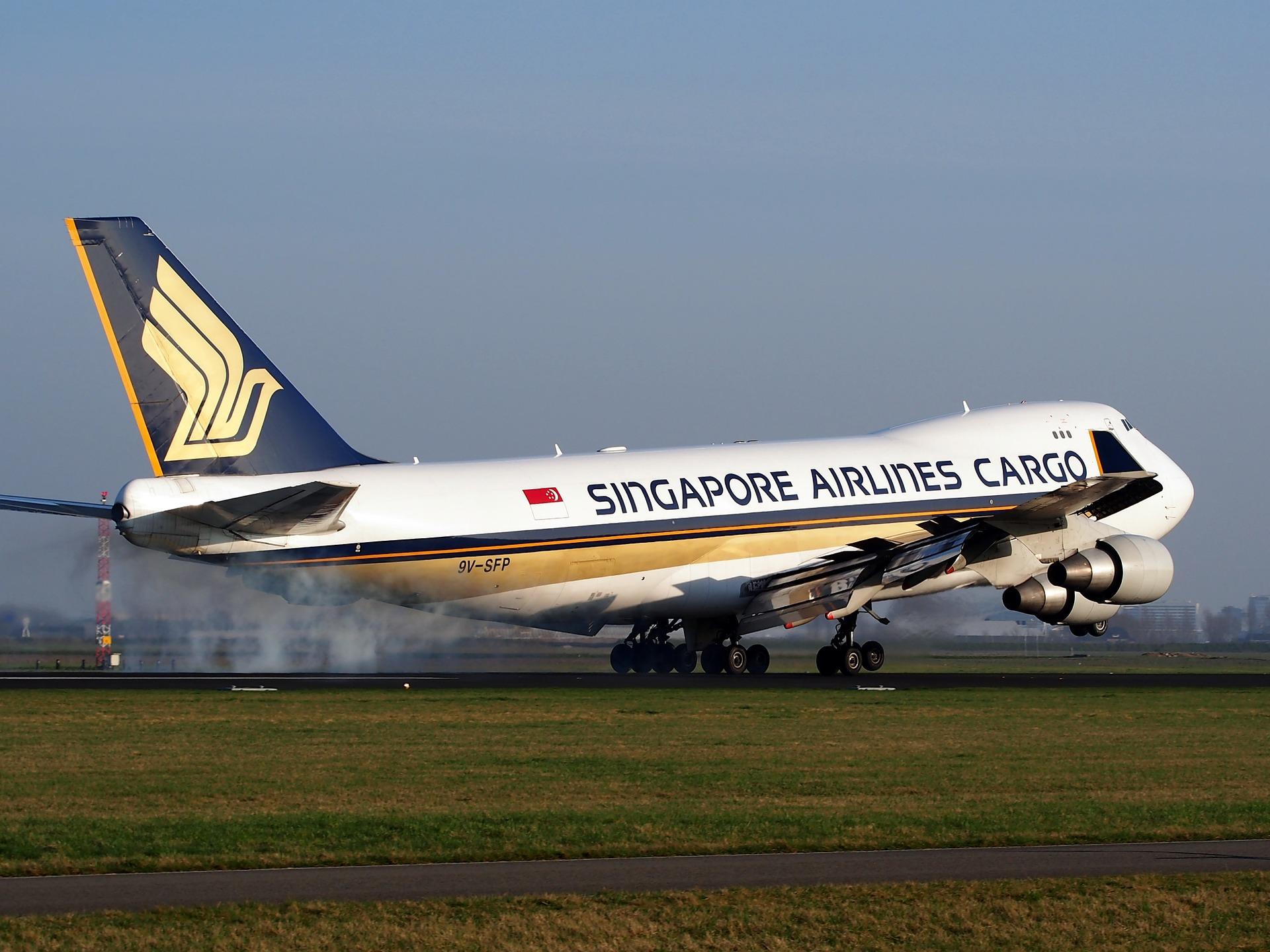SQ Cargo 747