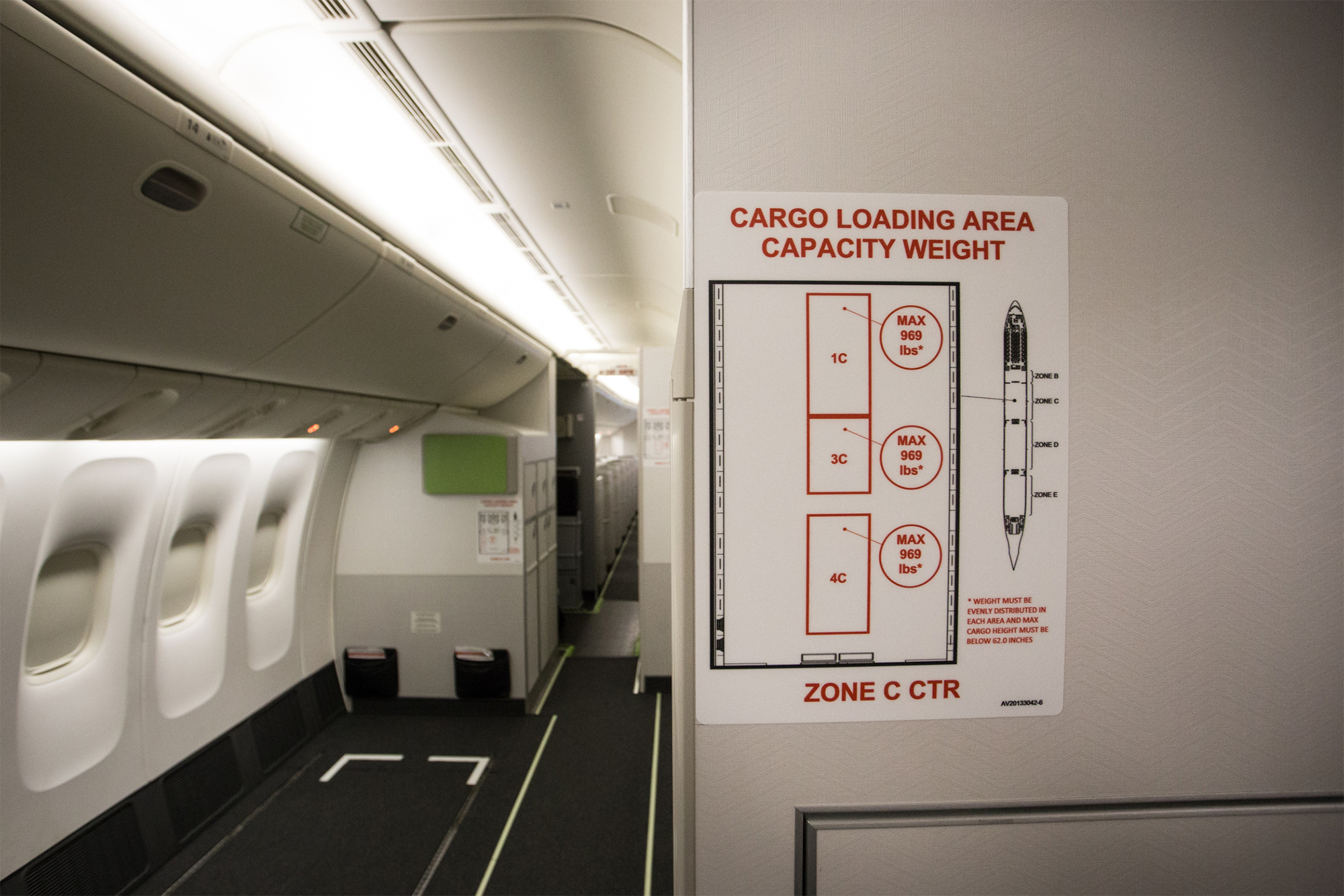 AC B77W Cargo in Cabin 1 (Air Canada)