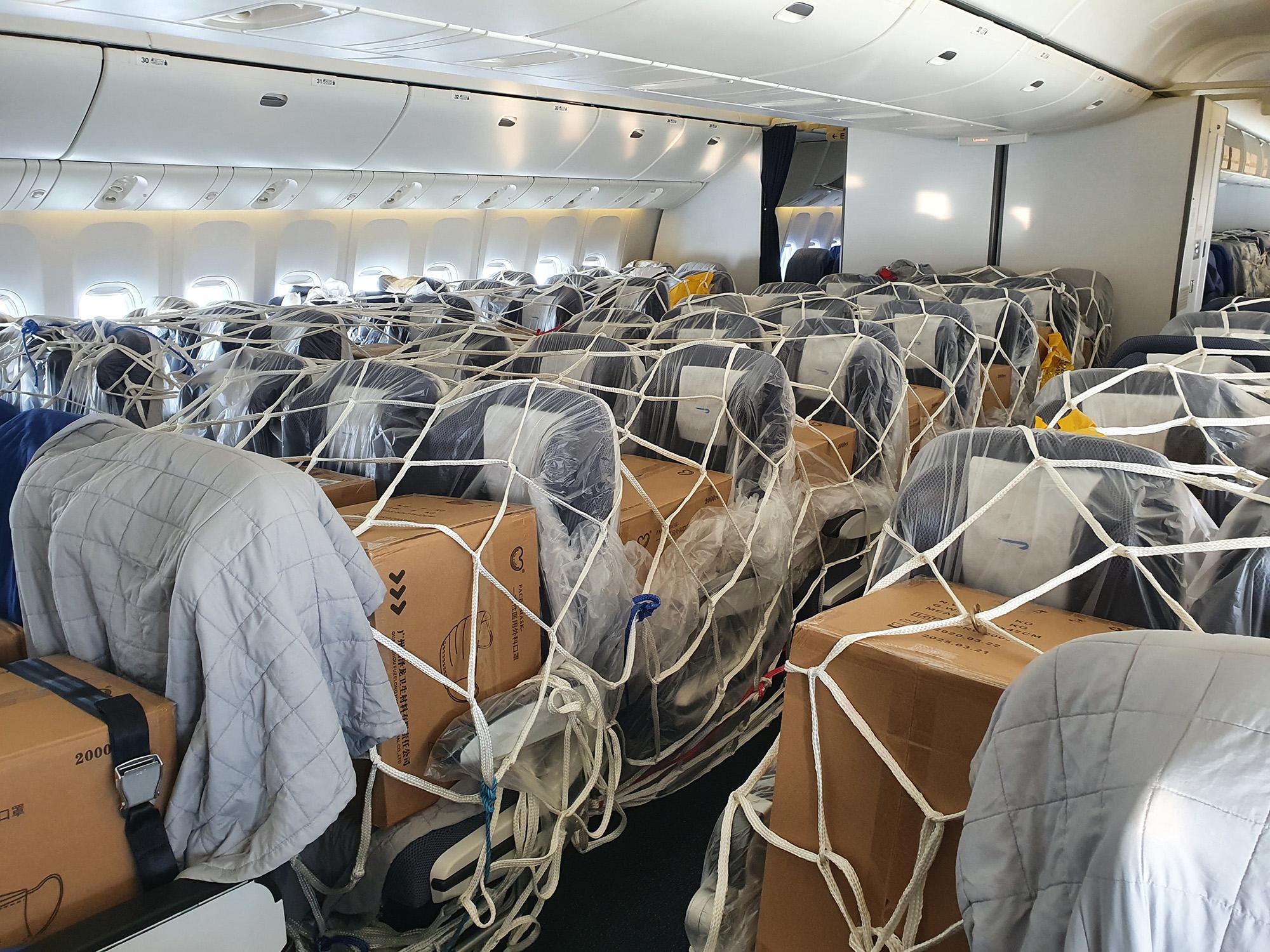 BA 777 Cargo Cabin 2 (British Airways)
