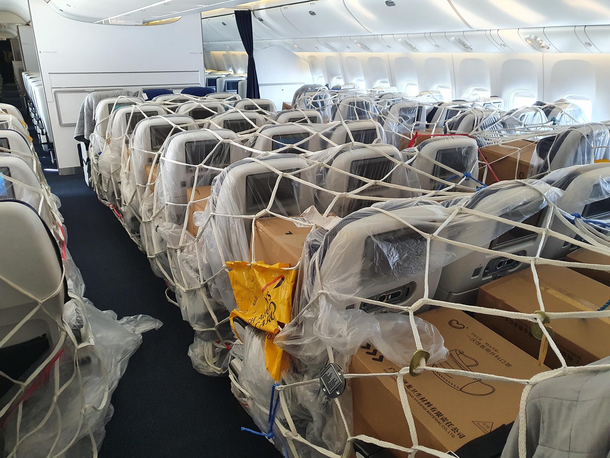 BA 777 Cargo Cabin 3 (British Airways)