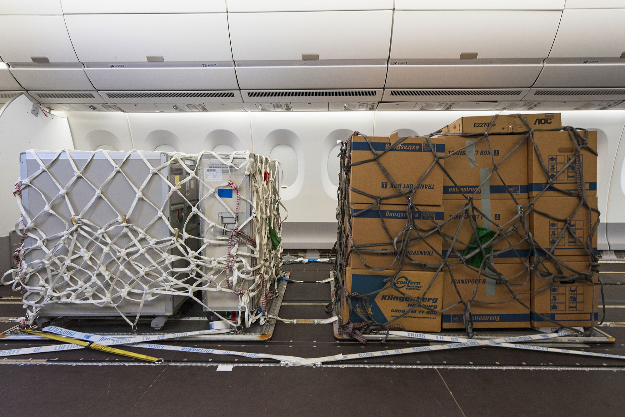 Cabin Cargo Flexibility (Airbus)