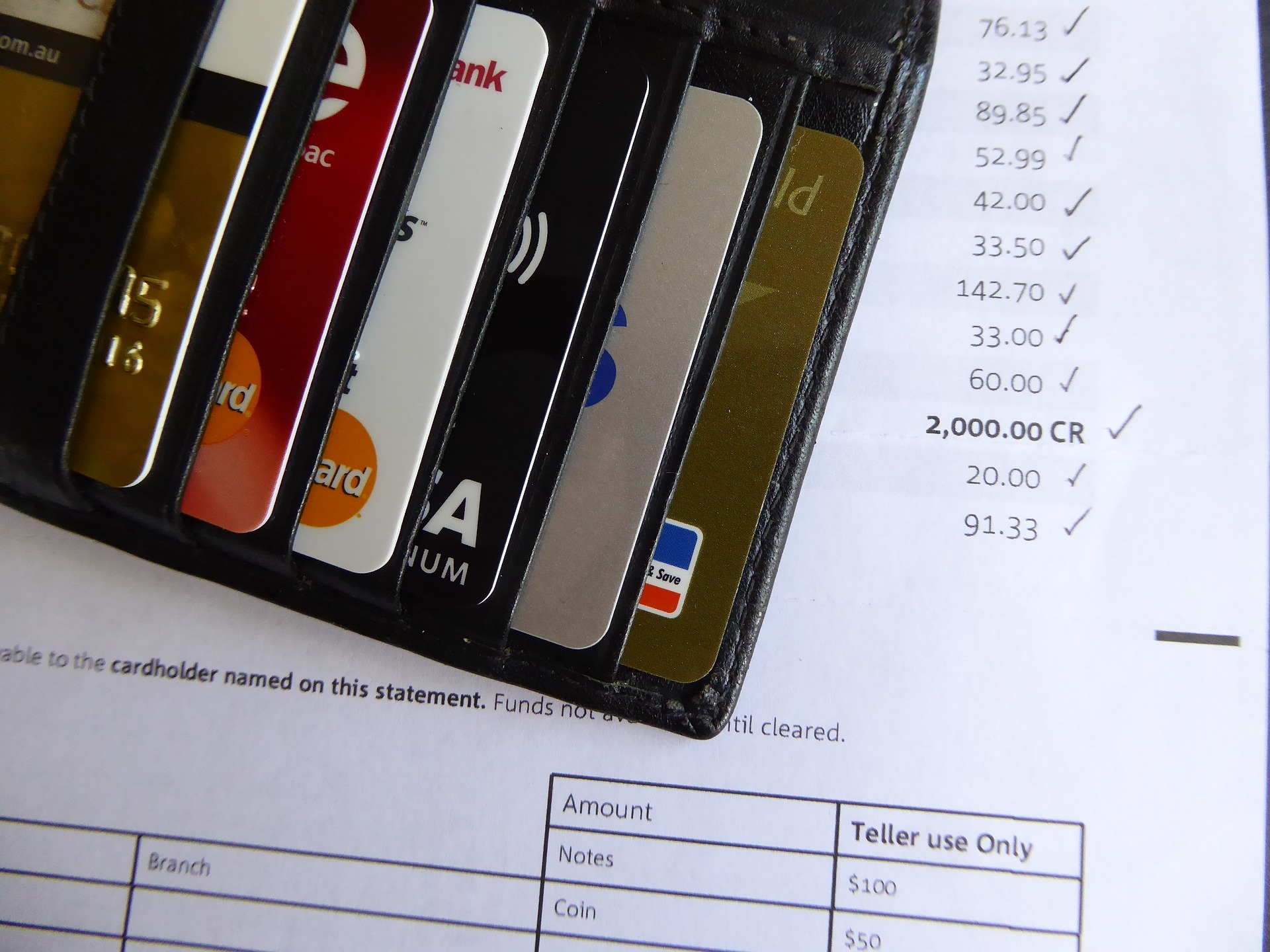 Credit Cards & Statement