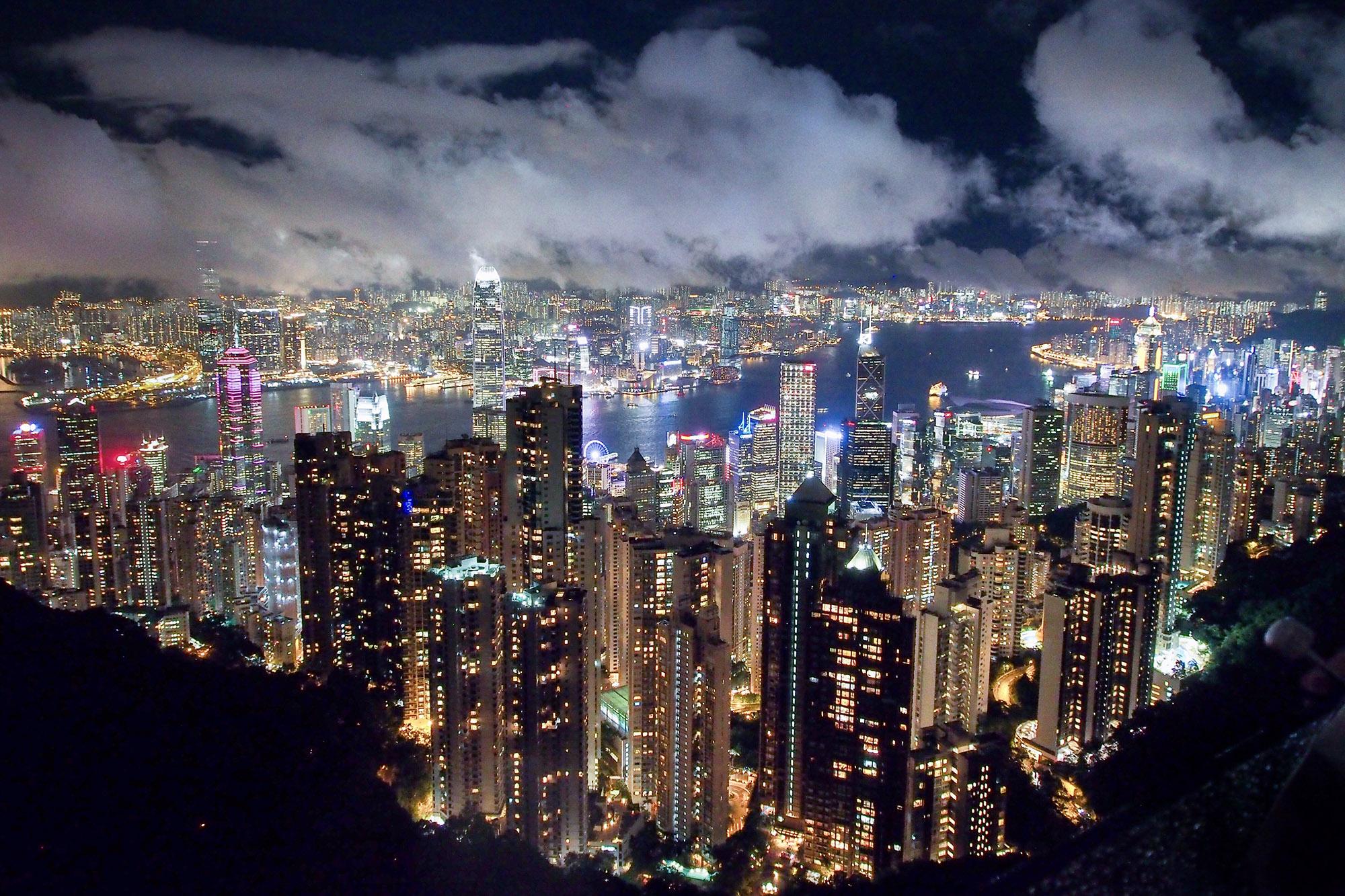 Hong Kong Skyline 2 (Yun Xu)